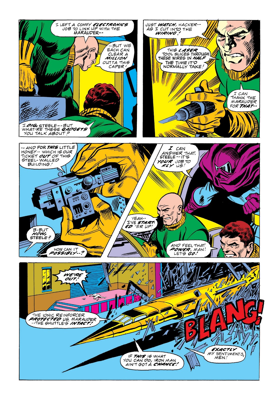 Read online Marvel Masterworks: The Invincible Iron Man comic -  Issue # TPB 9 (Part 2) - 36