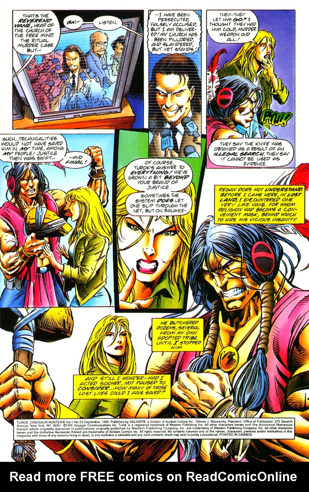 Read online Turok, Dinosaur Hunter (1993) comic -  Issue #29 - 4