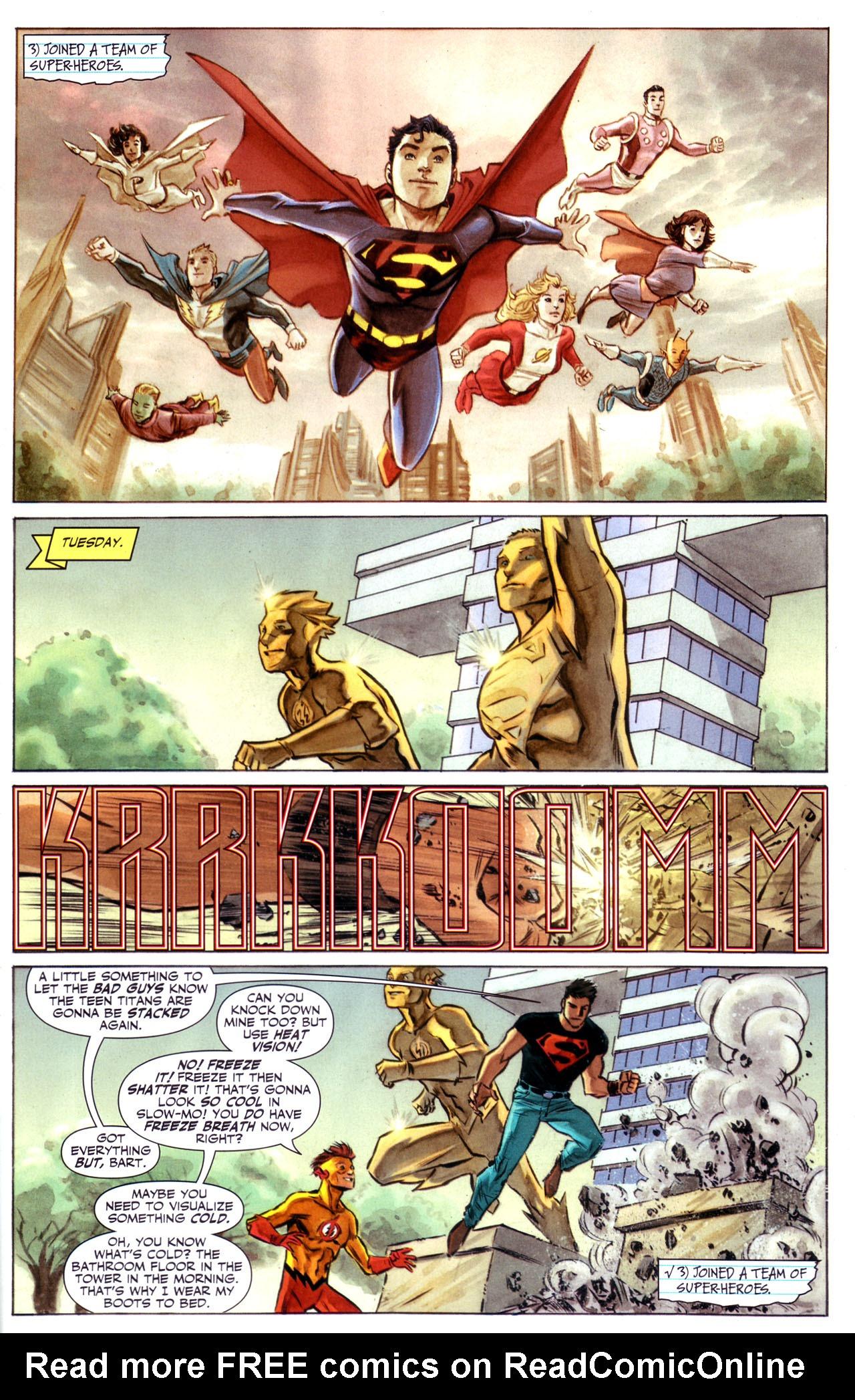 Read online Adventure Comics (2009) comic -  Issue #1 - 7