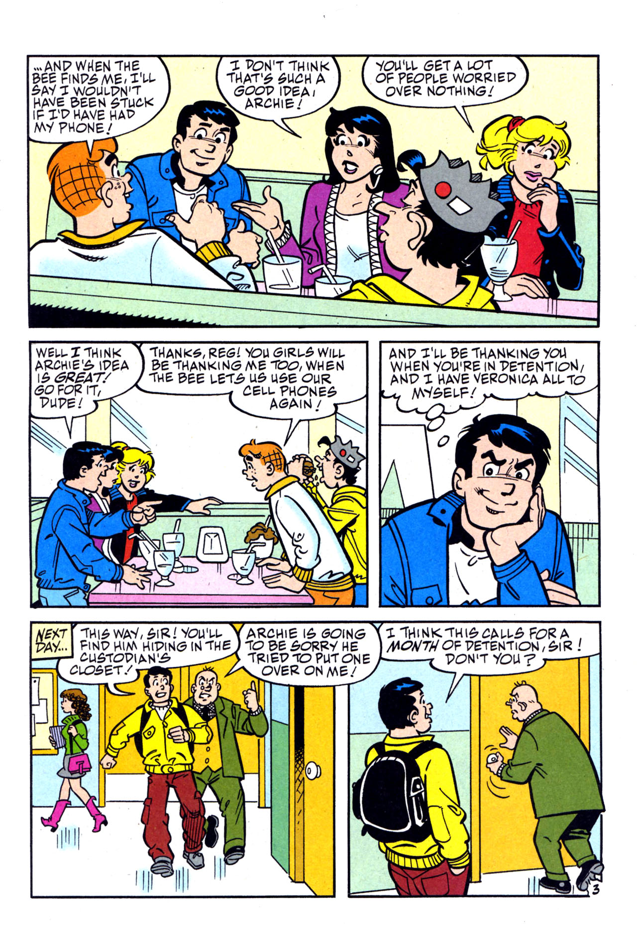 Read online Archie (1960) comic -  Issue #579 - 4