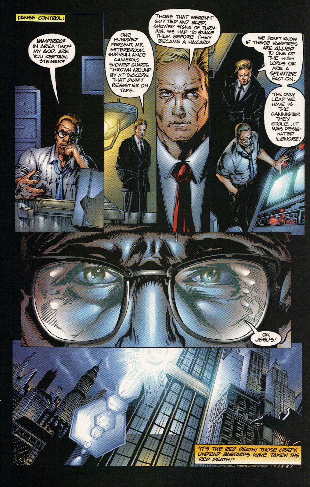 Vampirella vs Hemorrhage issue 1 - Page 13