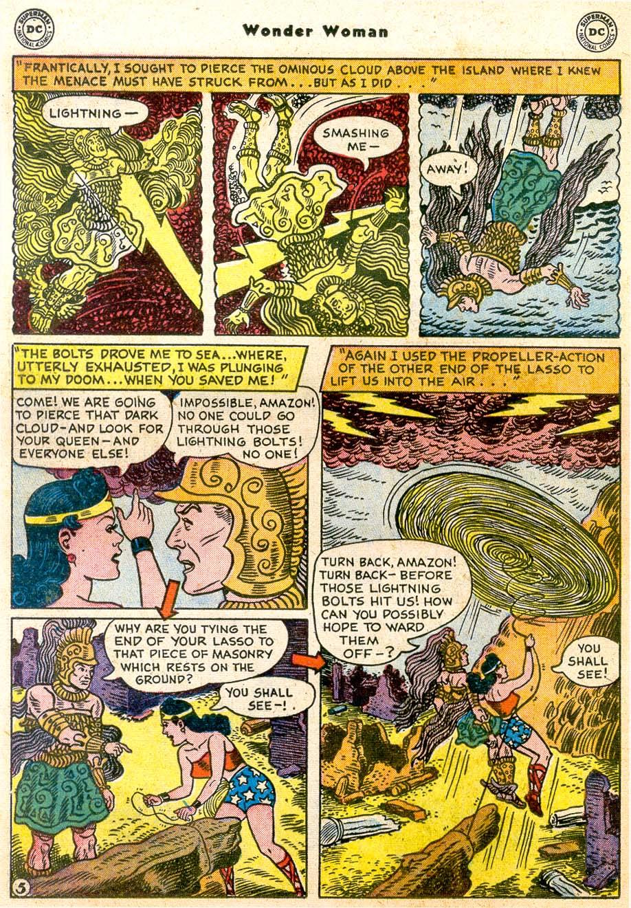 Read online Wonder Woman (1942) comic -  Issue #91 - 20