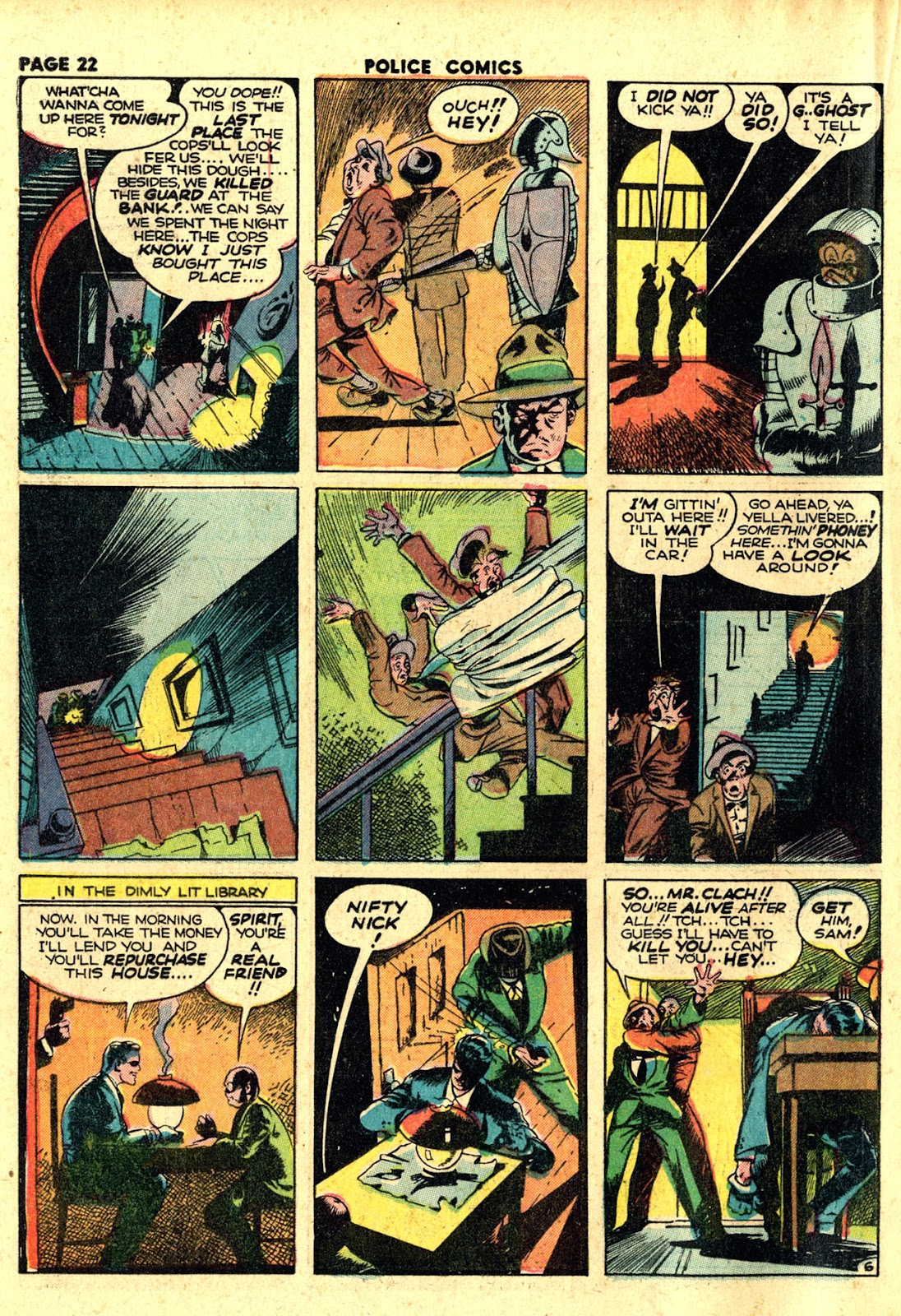 Police Comics issue 19 - Page 24