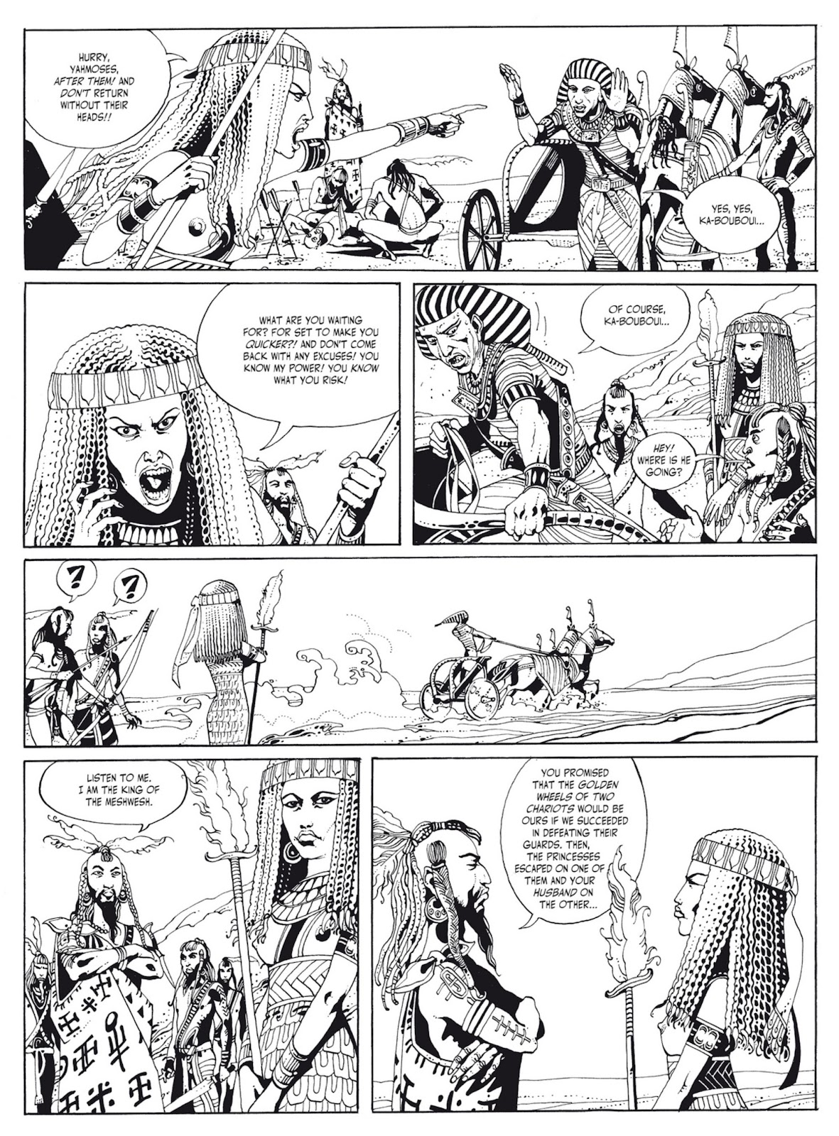 Read online The Egyptian Princesses comic -  Issue # TPB 1 (Part 1) - 19