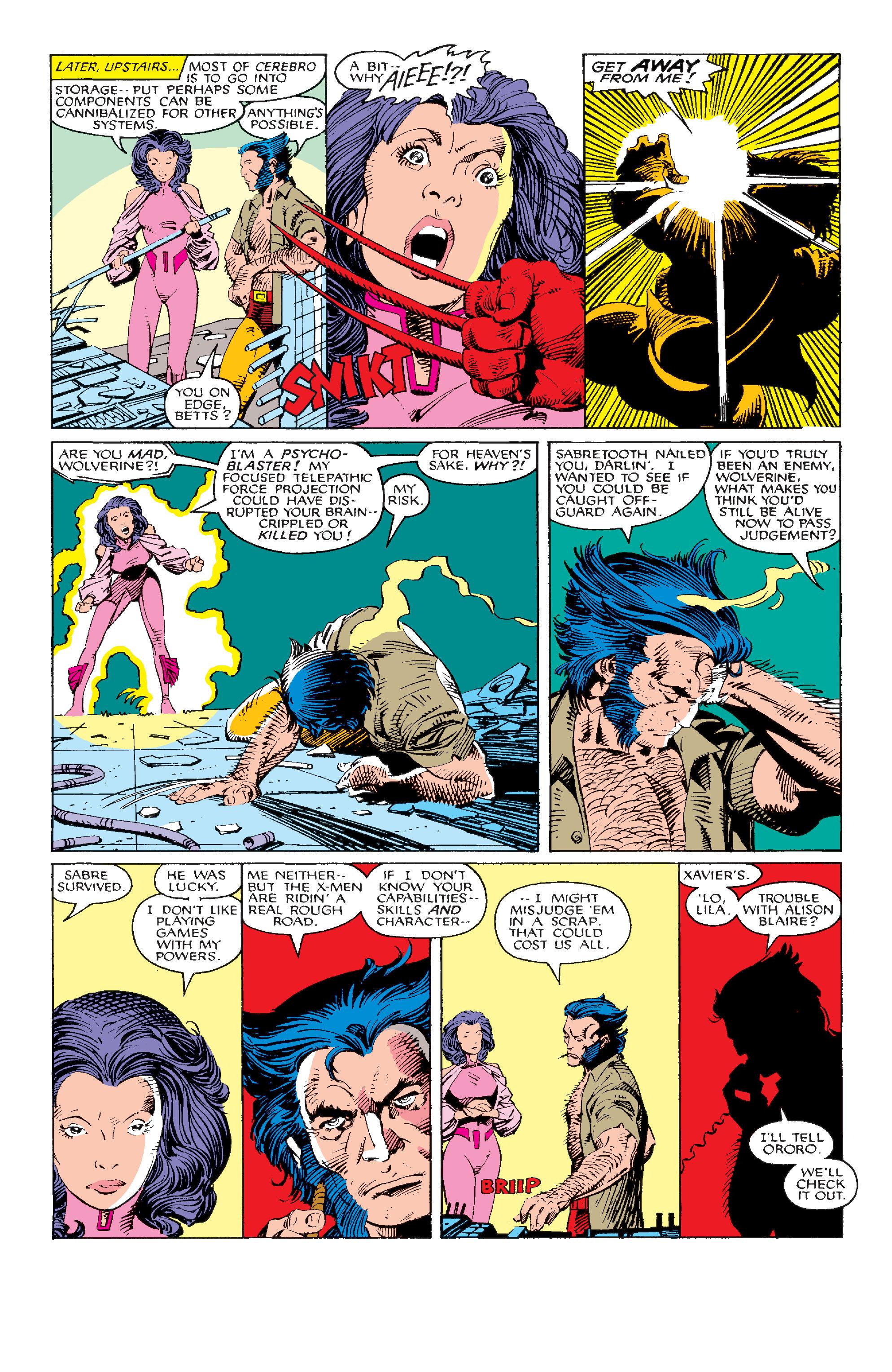 Read online Uncanny X-Men (1963) comic -  Issue #214 - 10