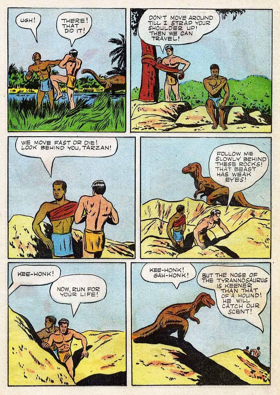 Tarzan (1948) issue 7 - Page 17