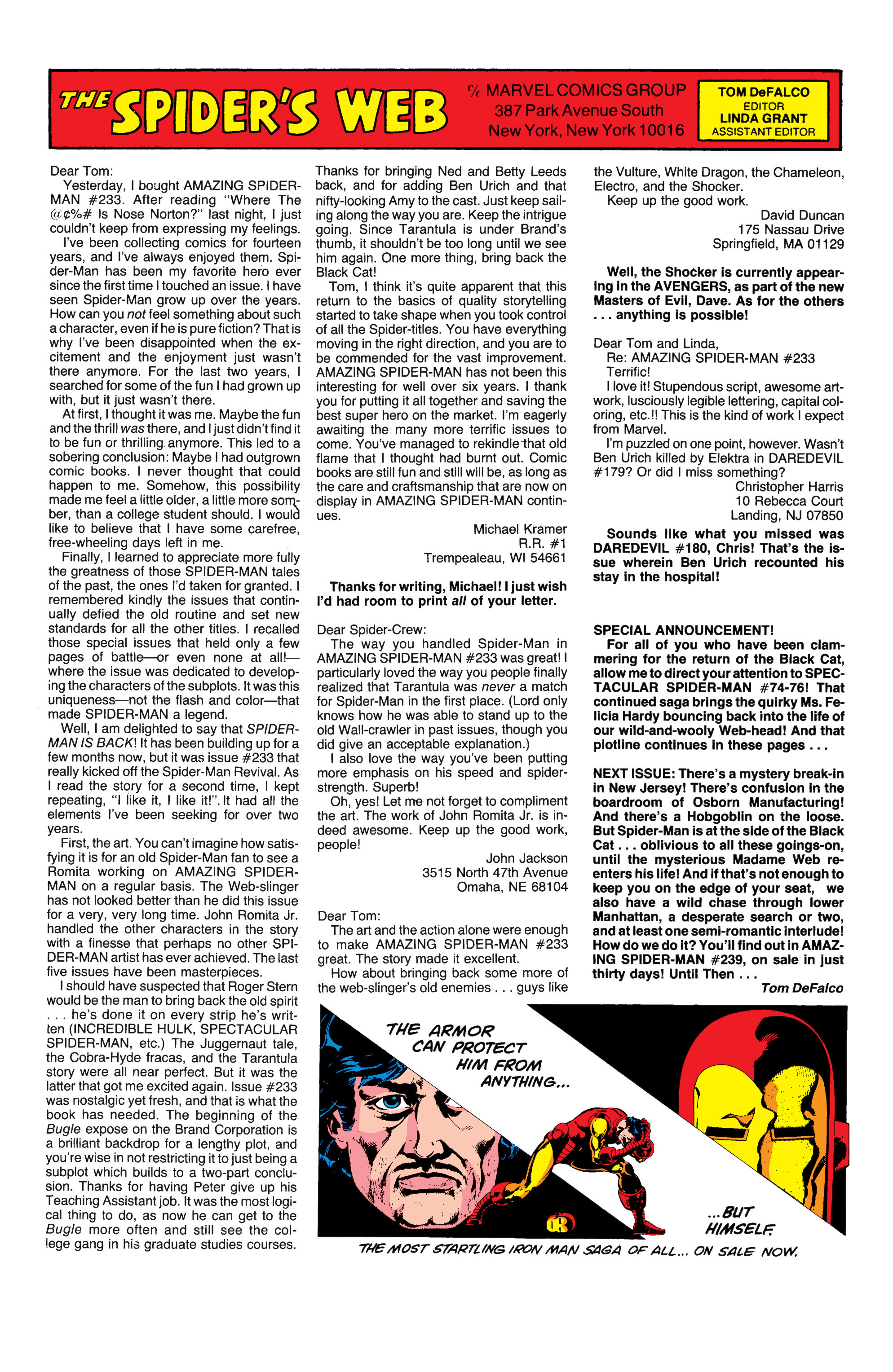 The Amazing Spider-Man (1963) 238 Page 23