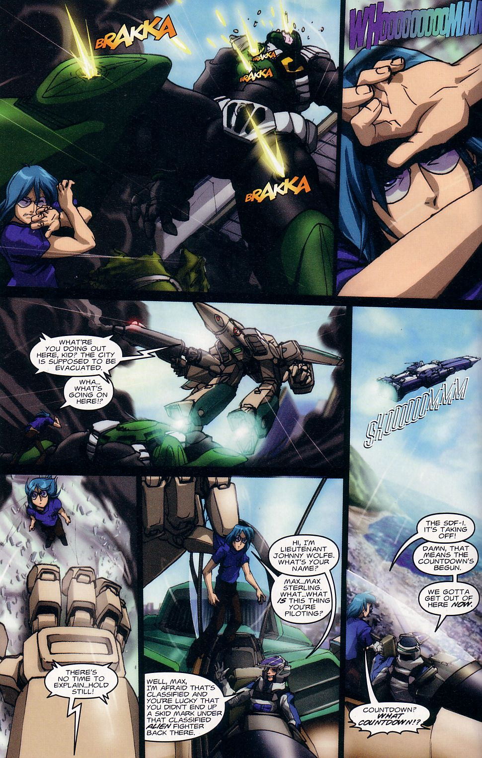 Read online Robotech: Love and War comic -  Issue #1 - 11