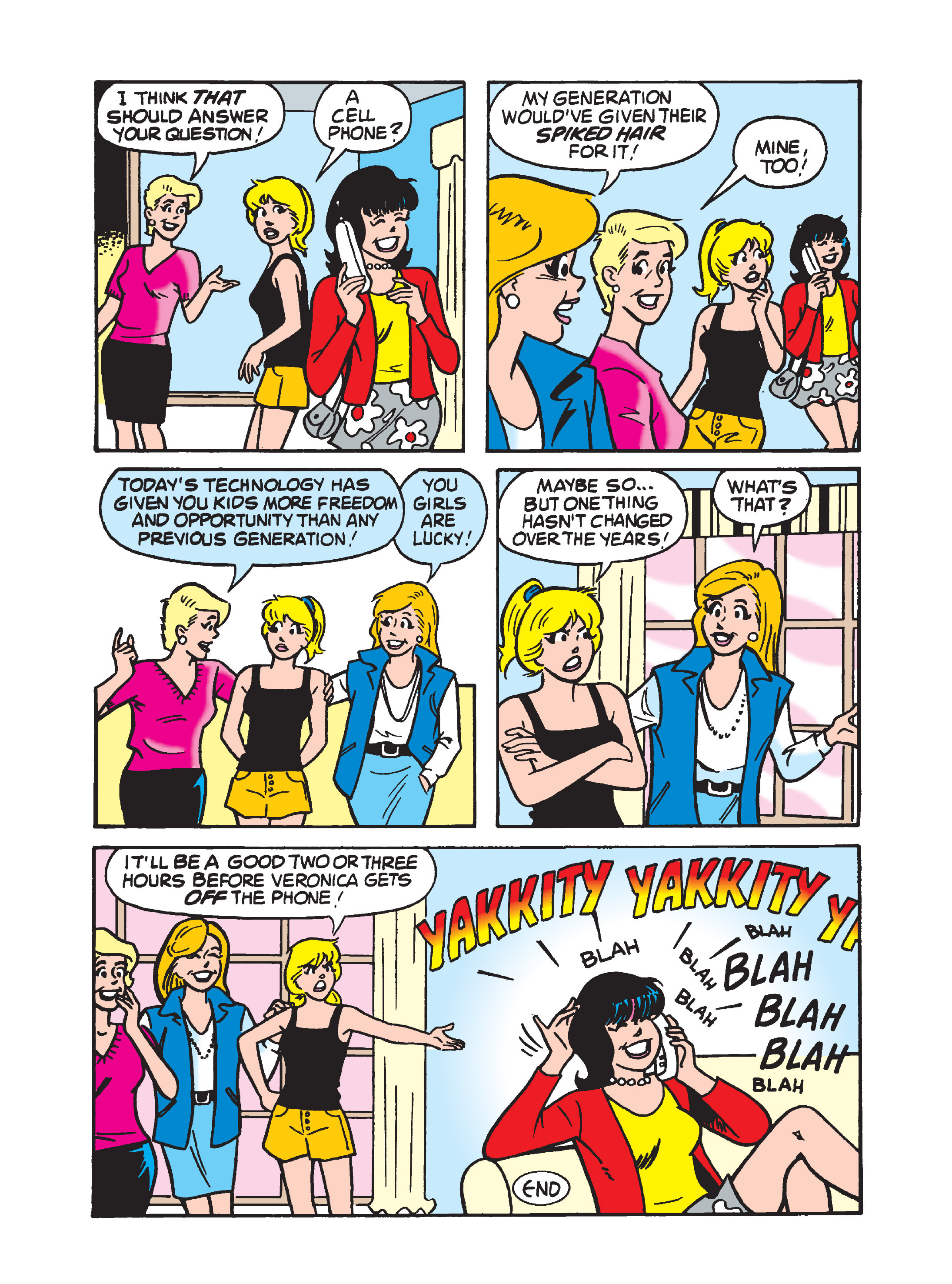 Read online Archie 75th Anniversary Digest comic -  Issue #1 - 105