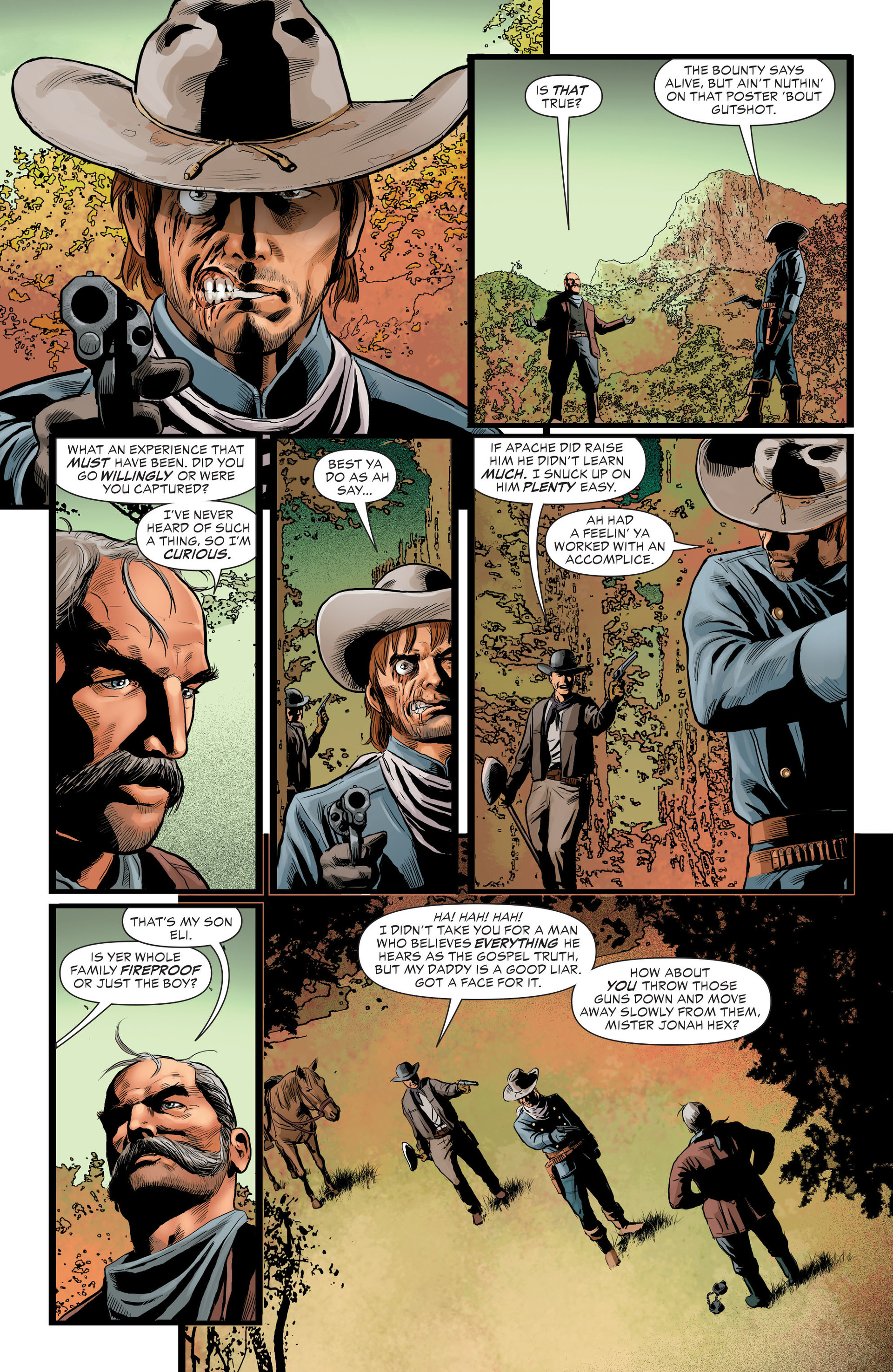 Read online All-Star Western (2011) comic -  Issue #29 - 13