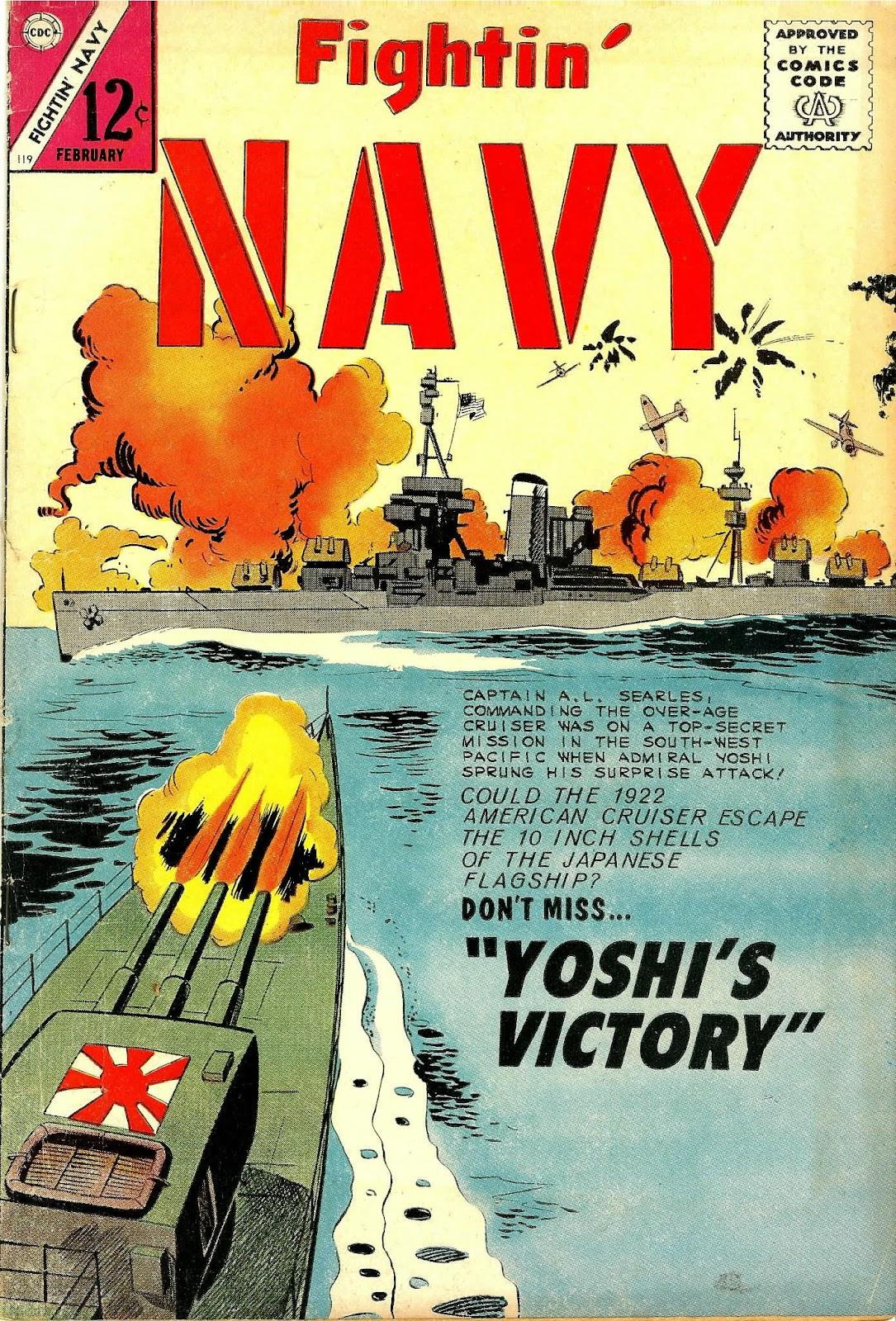 Read online Fightin' Navy comic -  Issue #119 - 1