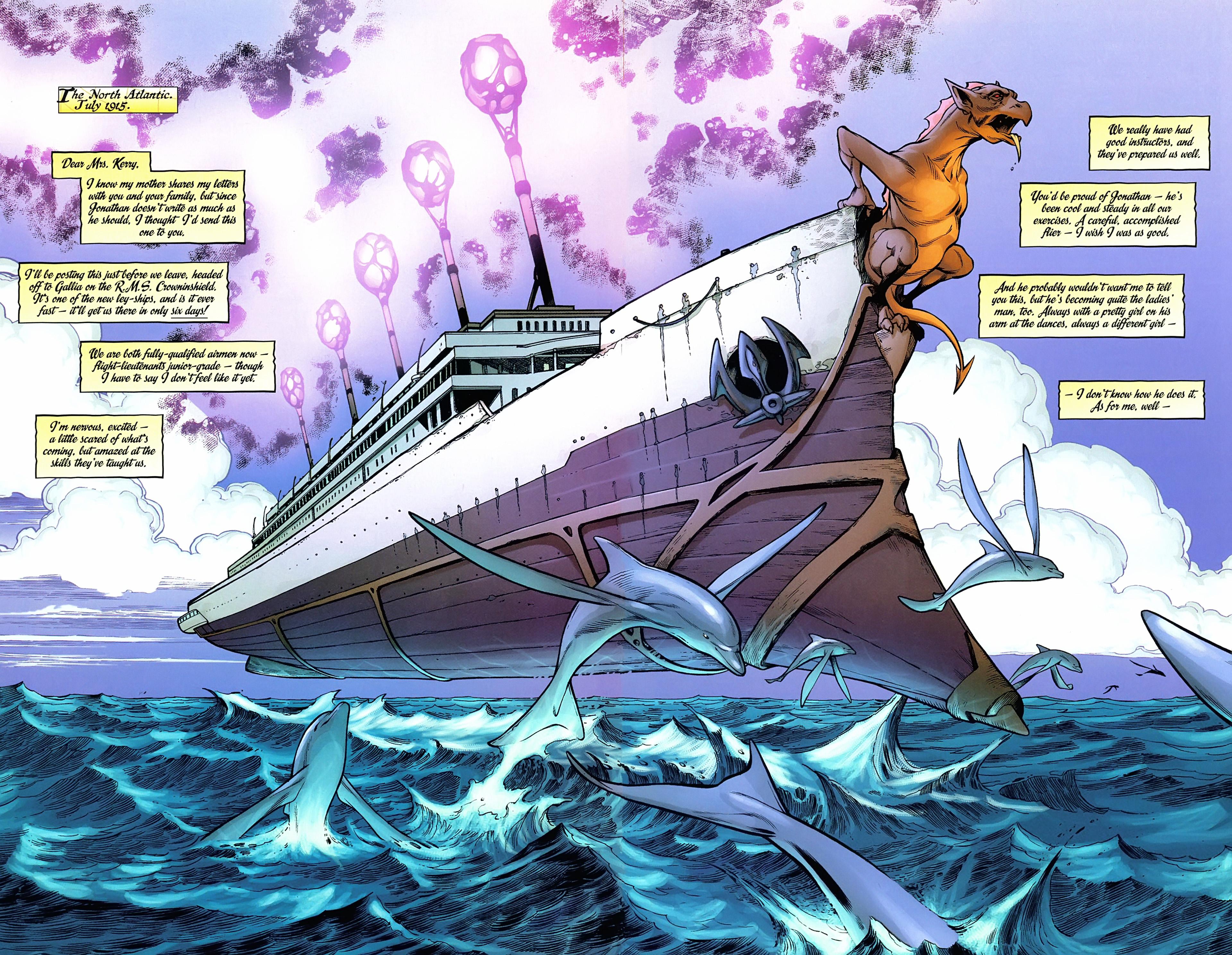 Read online Arrowsmith comic -  Issue #3 - 3