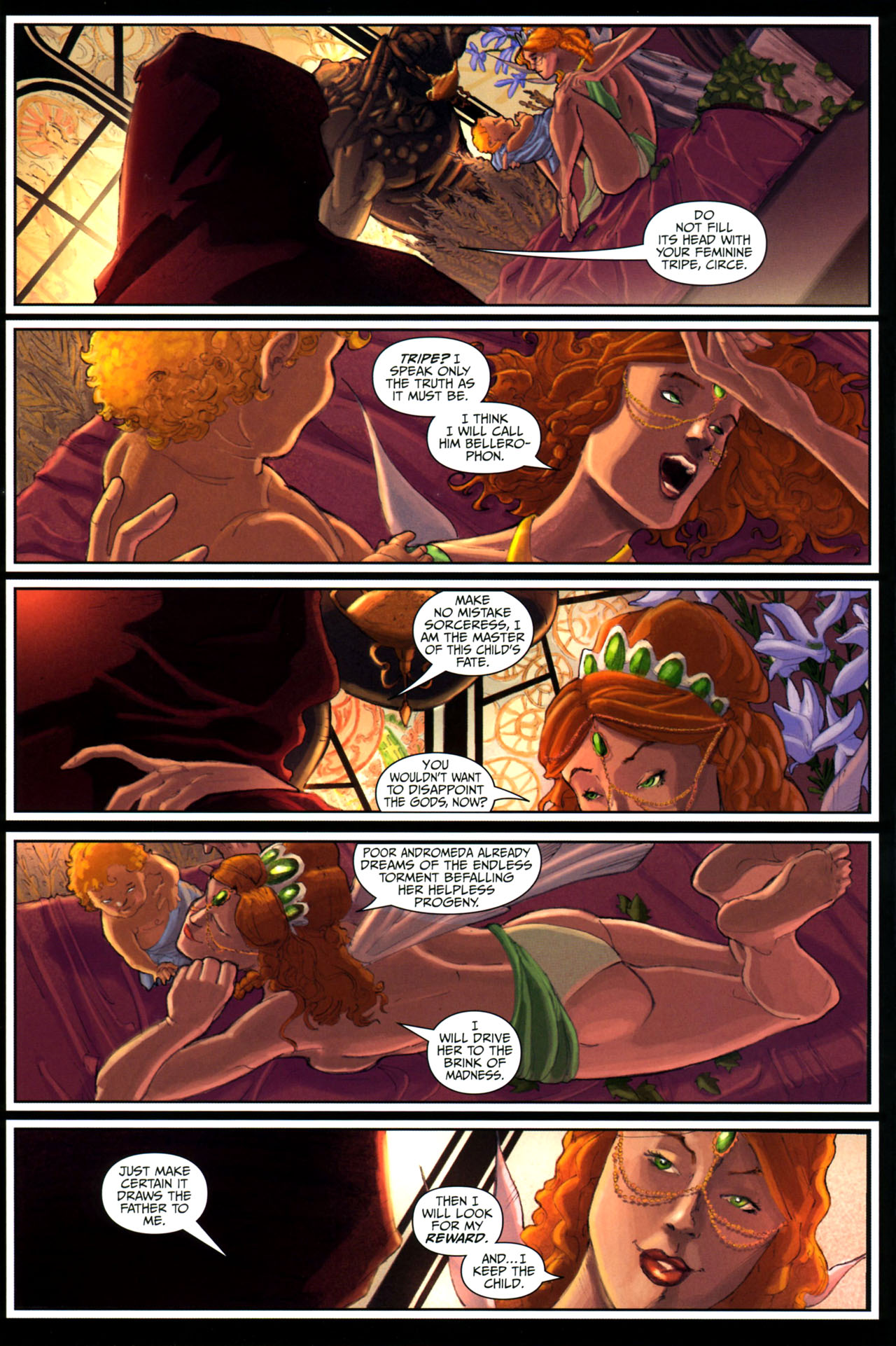 Read online Wrath of the Titans comic -  Issue #3 - 4