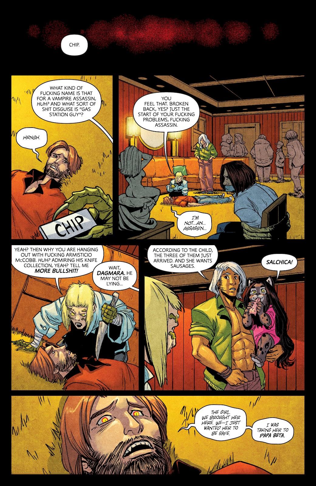 Read online Dark Red comic -  Issue #7 - 21