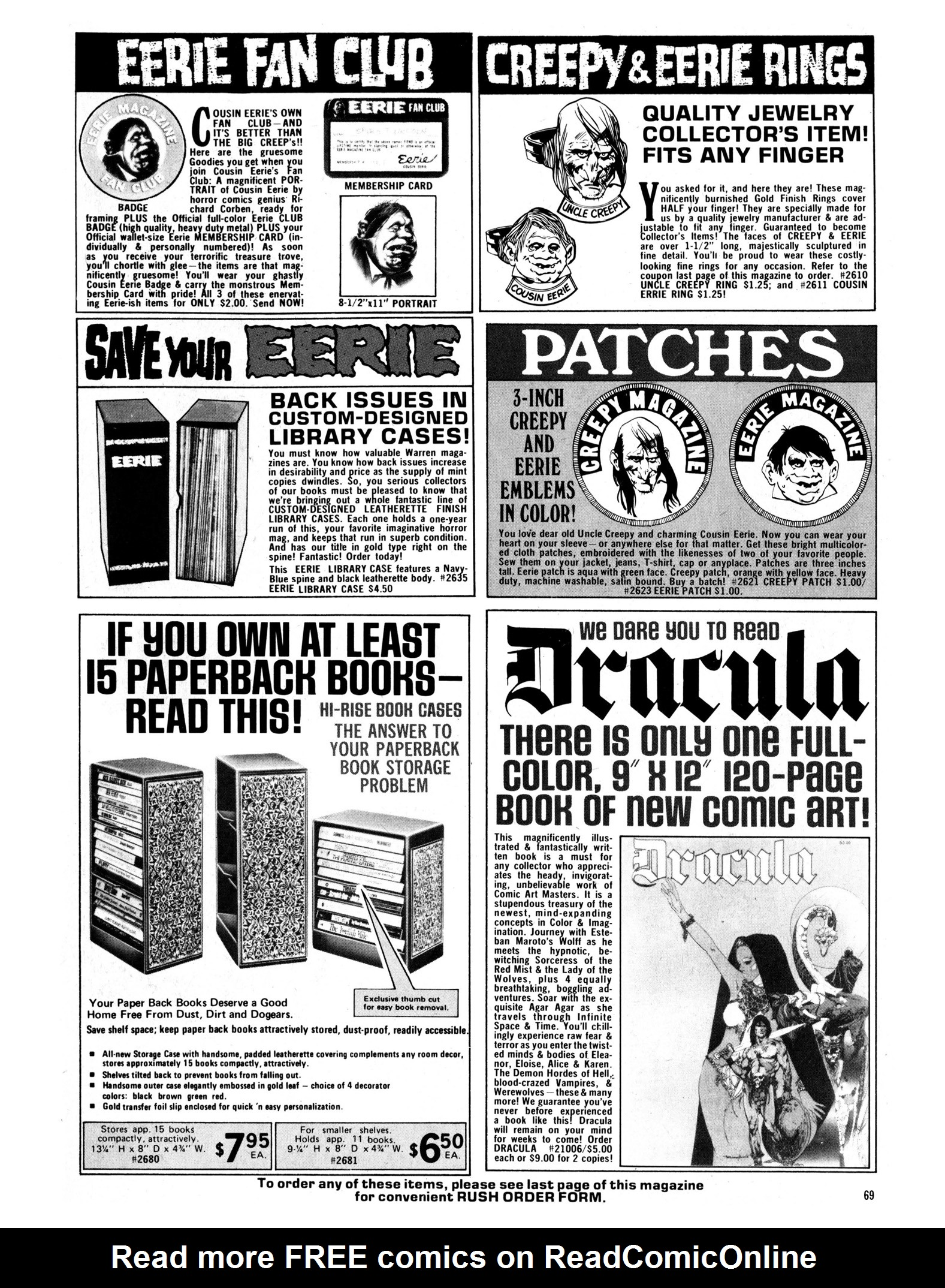 Read online Eerie Archives comic -  Issue # TPB 13 - 70