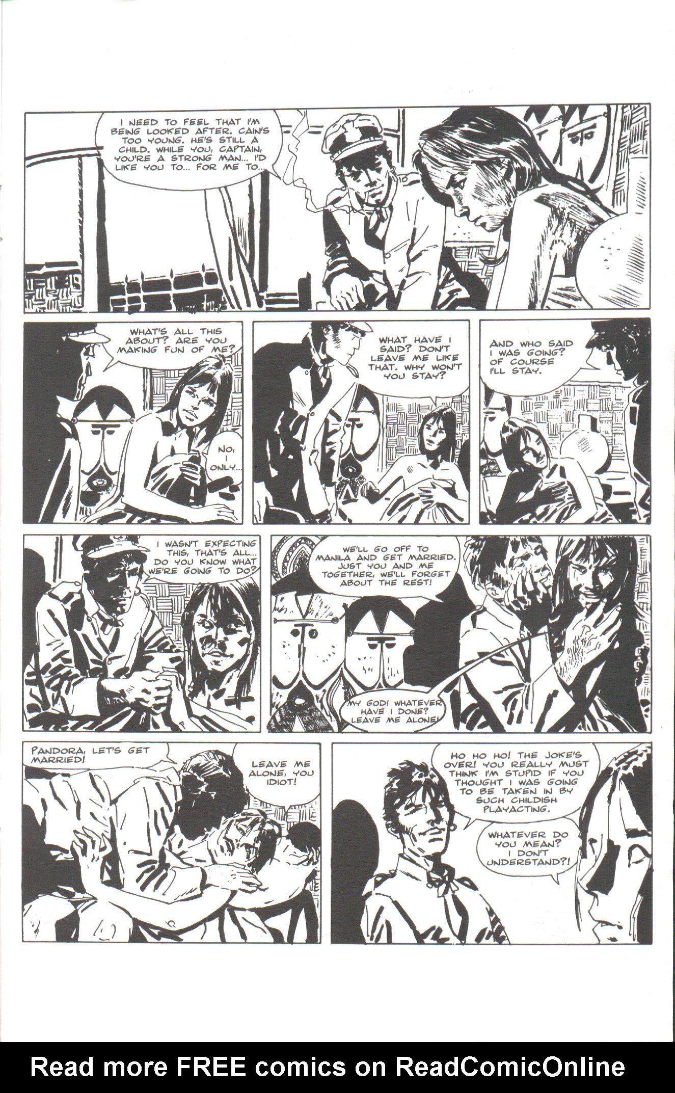 Read online Corto Maltese: Ballad of the Salt Sea comic -  Issue #1 - 25