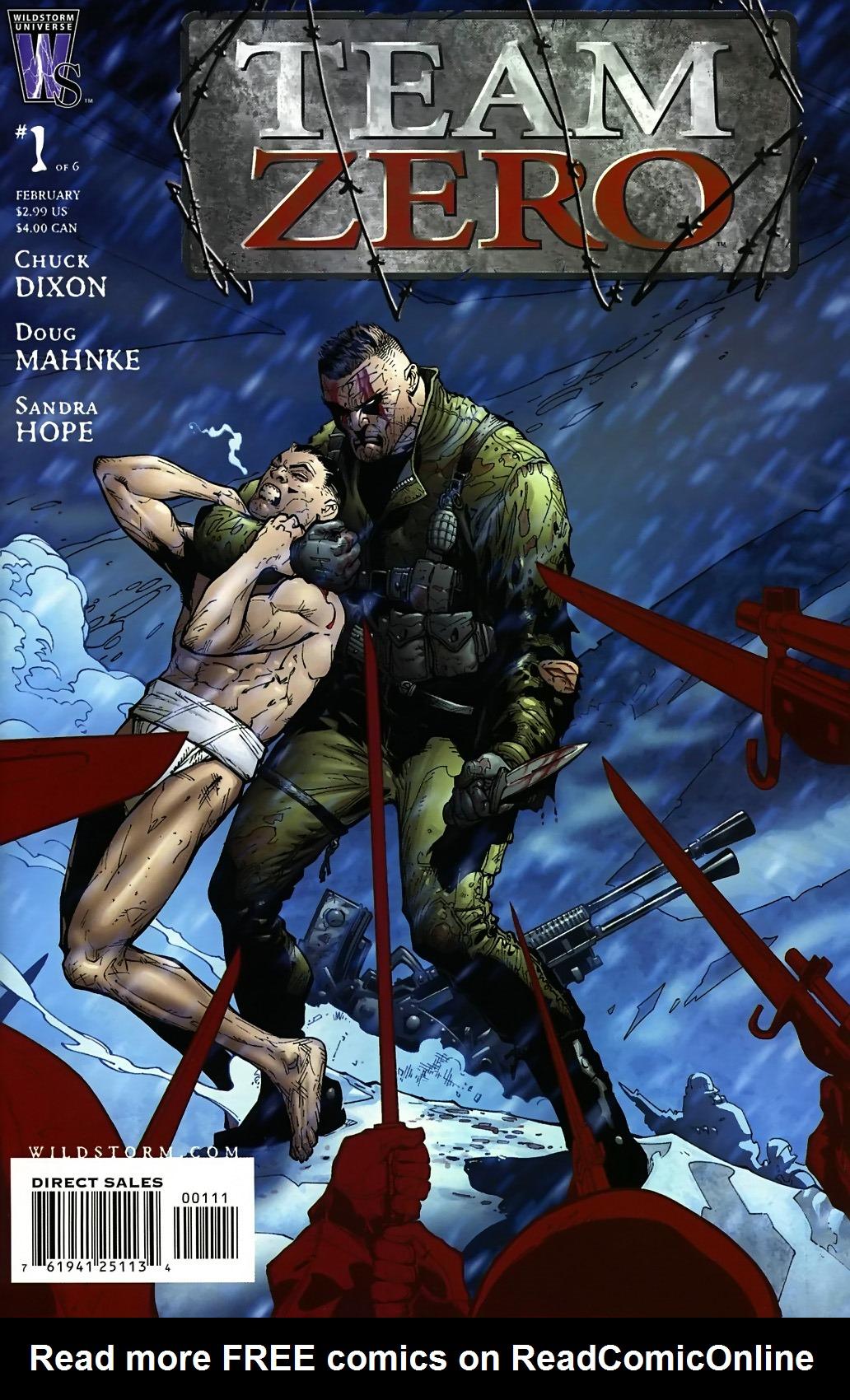 Read online Team Zero comic -  Issue #1 - 1