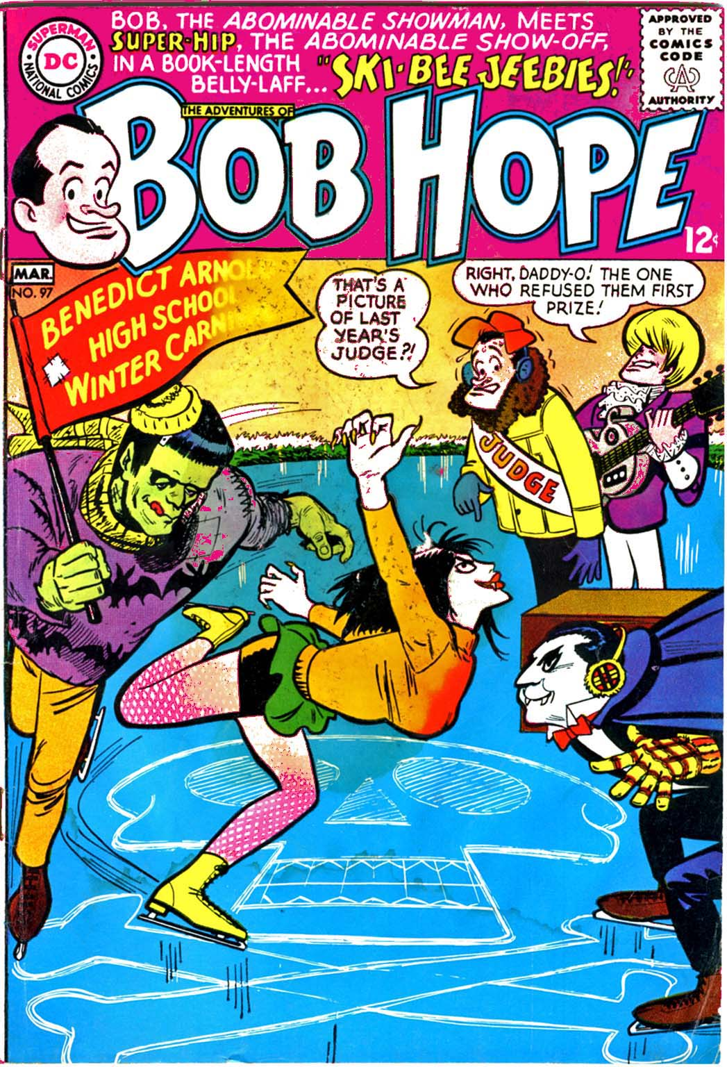The Adventures of Bob Hope issue 97 - Page 1