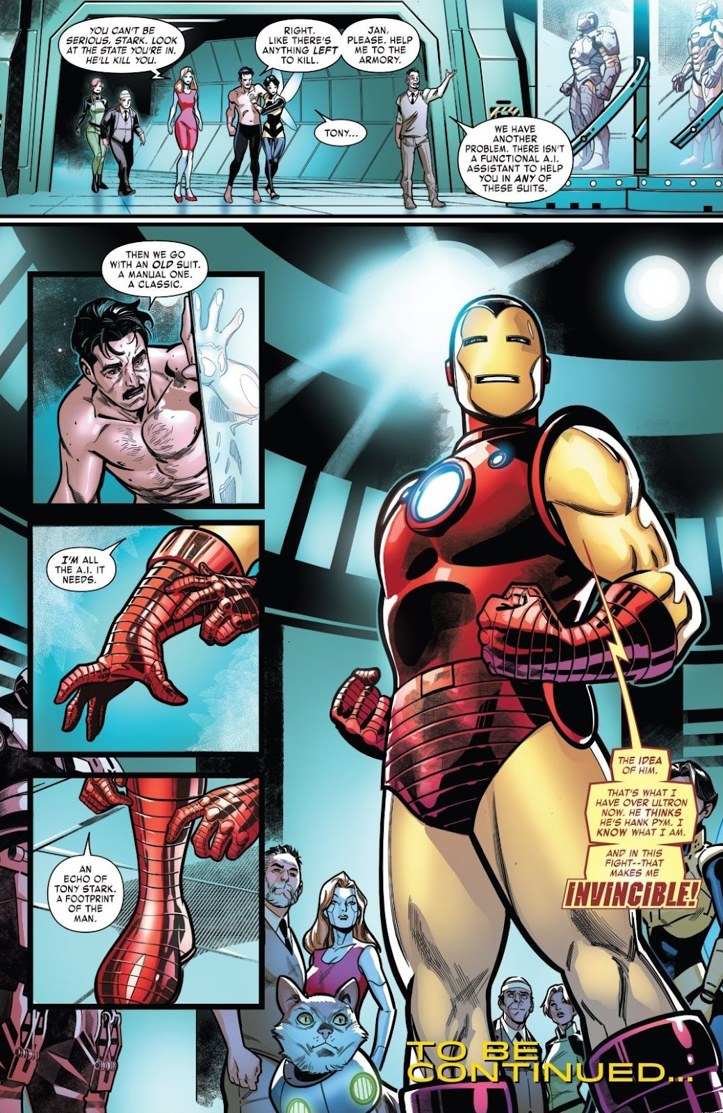 Read online Tony Stark: Iron Man comic -  Issue #18 - 20