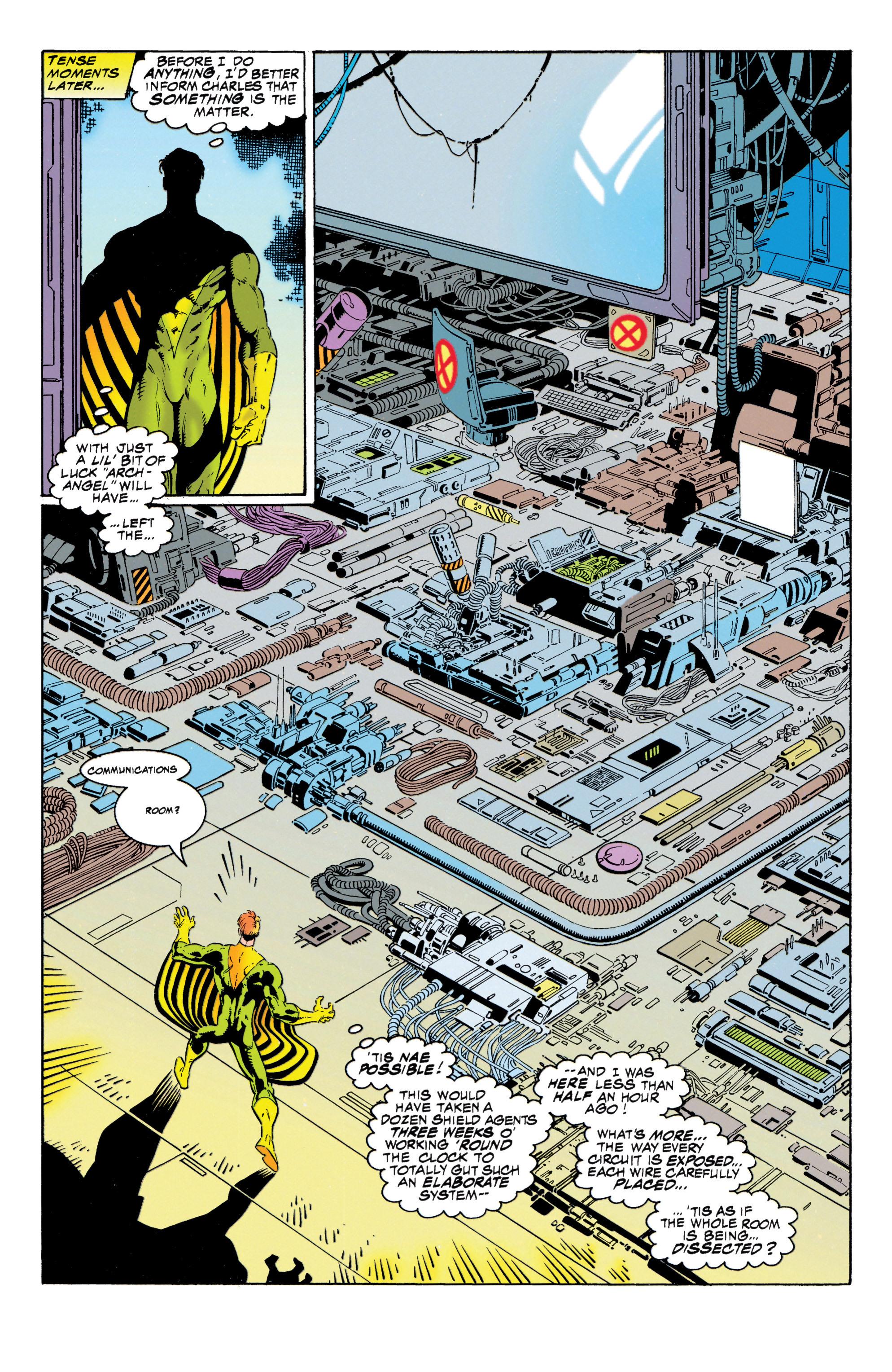 Read online Uncanny X-Men (1963) comic -  Issue #316 - 16