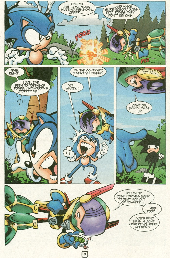 Read online Sonic Super Special comic -  Issue #8 - Giant special - 9