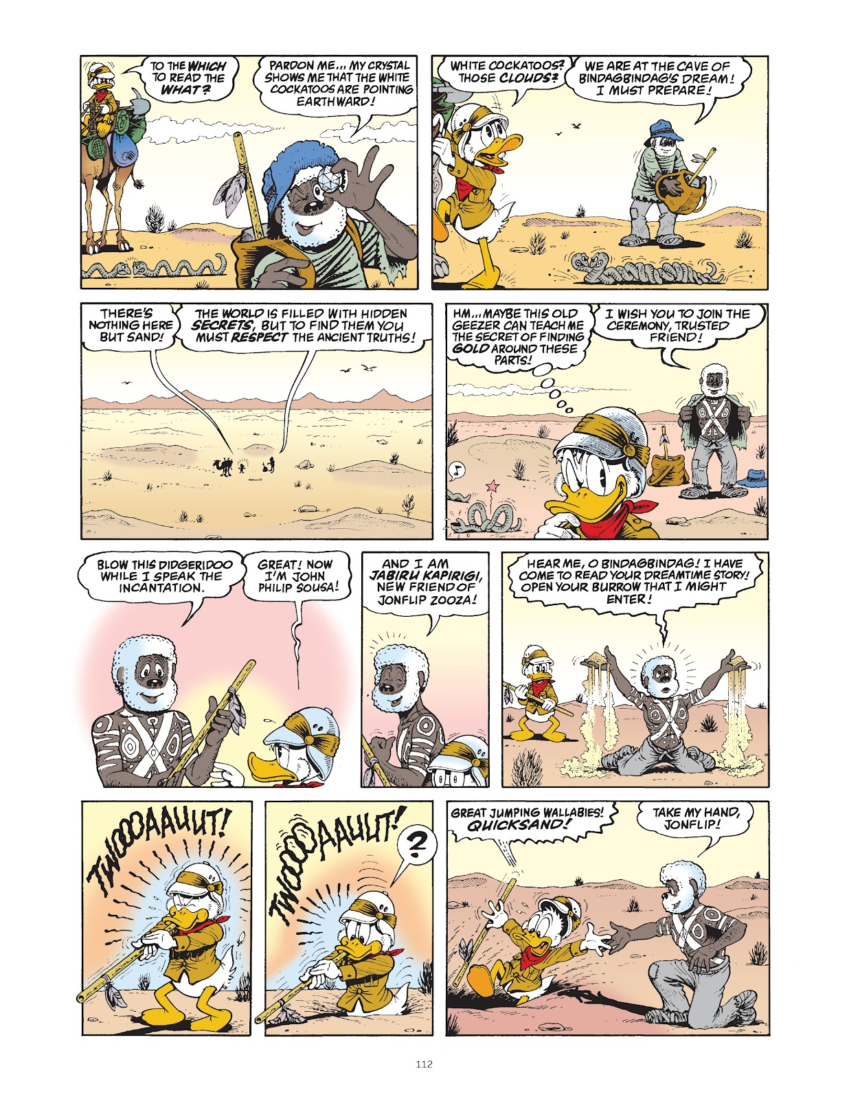 Read online The Complete Life and Times of Scrooge McDuck comic -  Issue # TPB 1 (Part 2) - 12