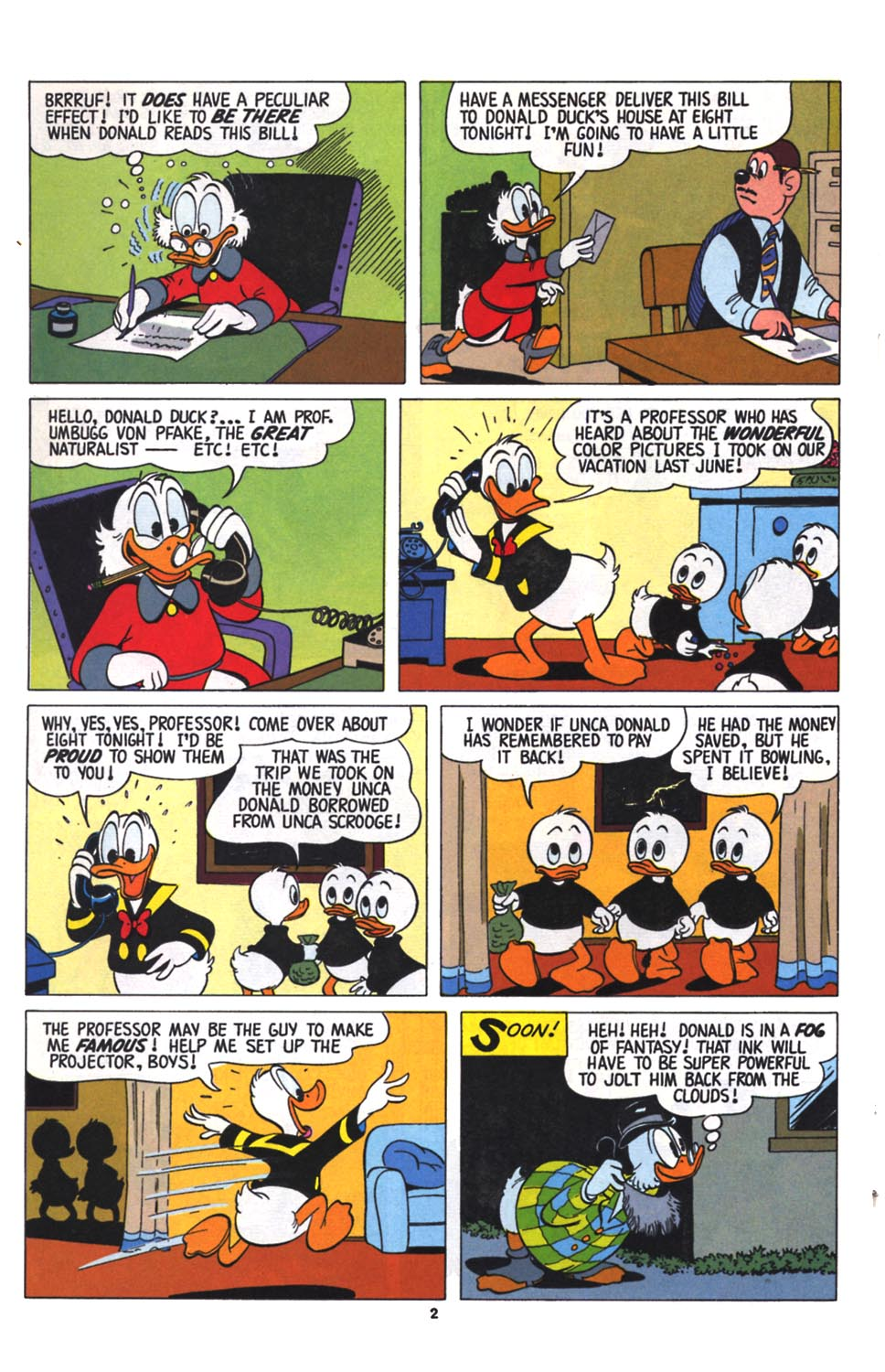 Read online Uncle Scrooge (1953) comic -  Issue #256 - 24