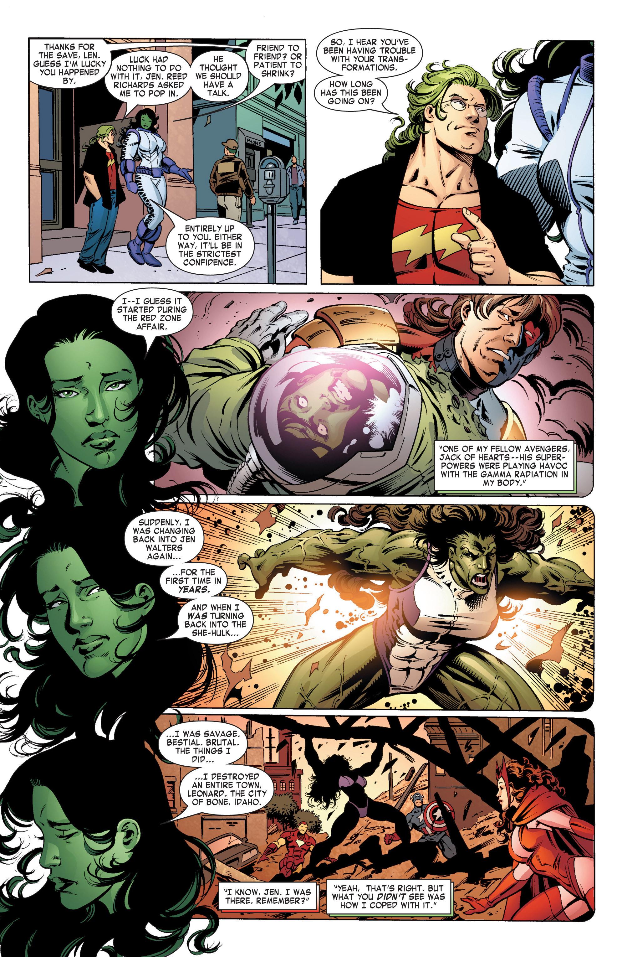 Read online She-Hulk (2004) comic -  Issue #11 - 7
