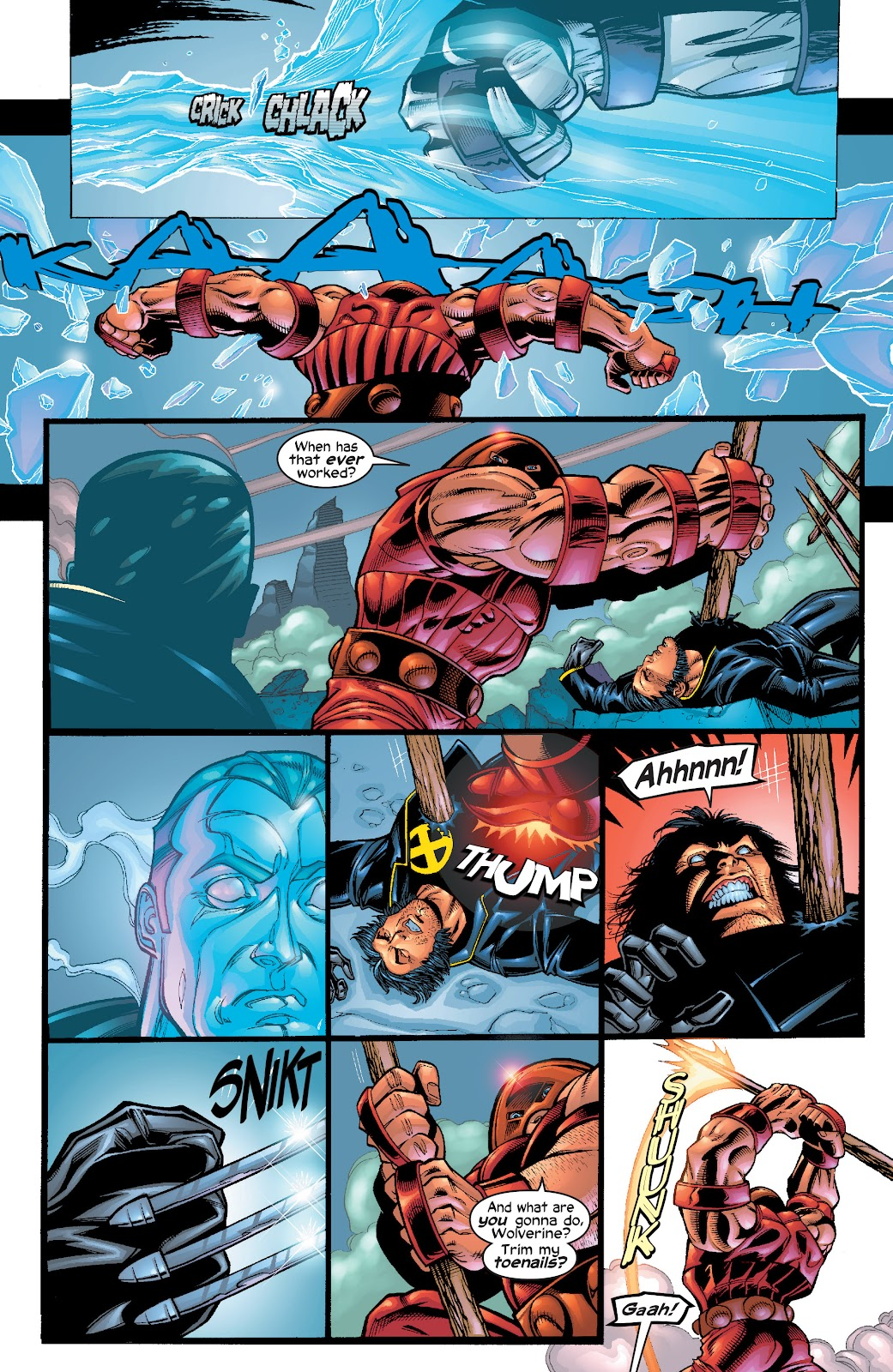 Read online X-Men: Unstoppable comic -  Issue # TPB (Part 1) - 30