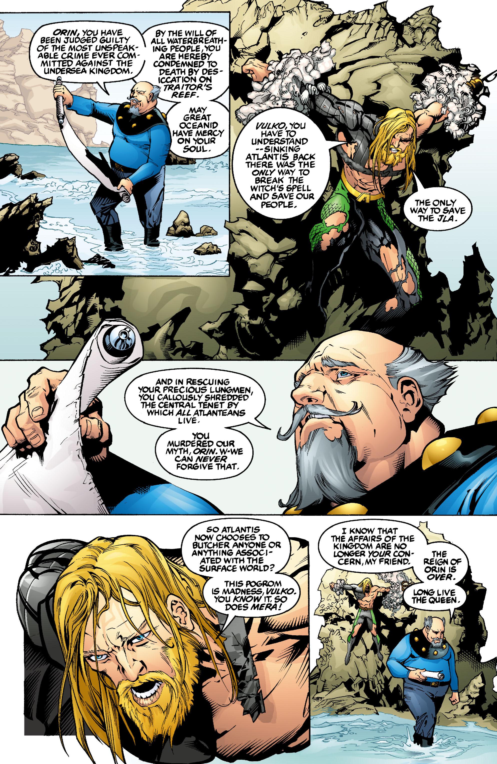 Read online Aquaman (2003) comic -  Issue #1 - 7