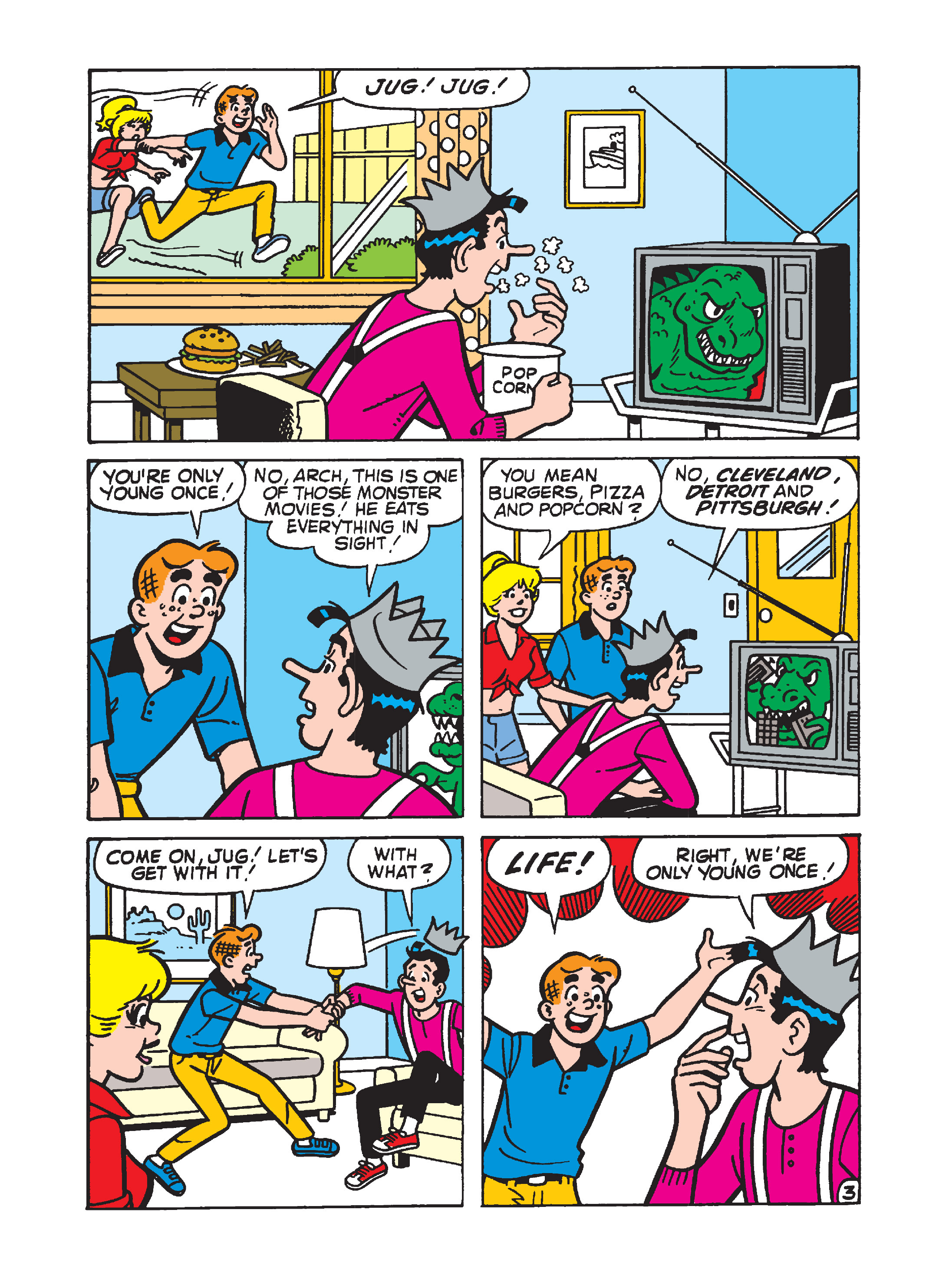 Read online Archie's Funhouse Double Digest comic -  Issue #7 - 120