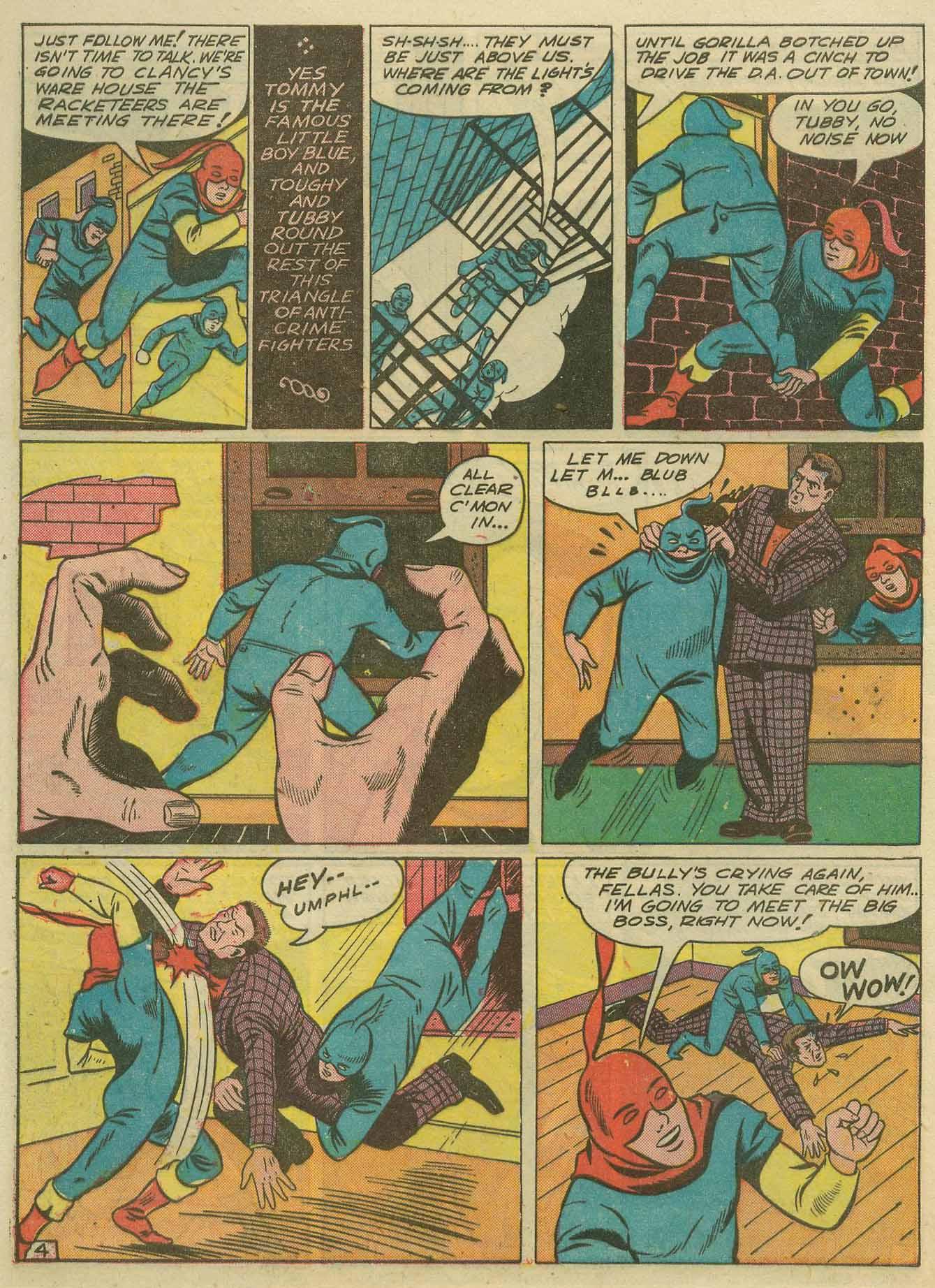 Read online Sensation (Mystery) Comics comic -  Issue #14 - 52