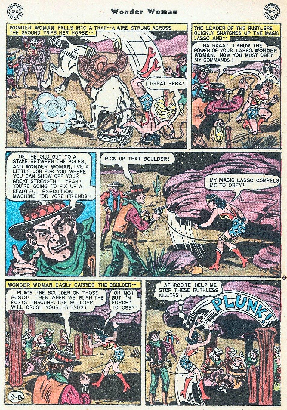Read online Wonder Woman (1942) comic -  Issue #27 - 29
