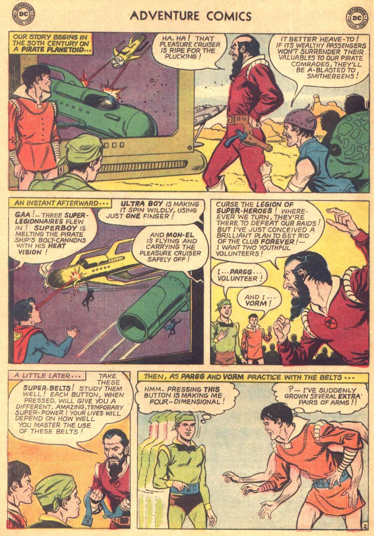 Read online Adventure Comics (1938) comic -  Issue #330 - 3