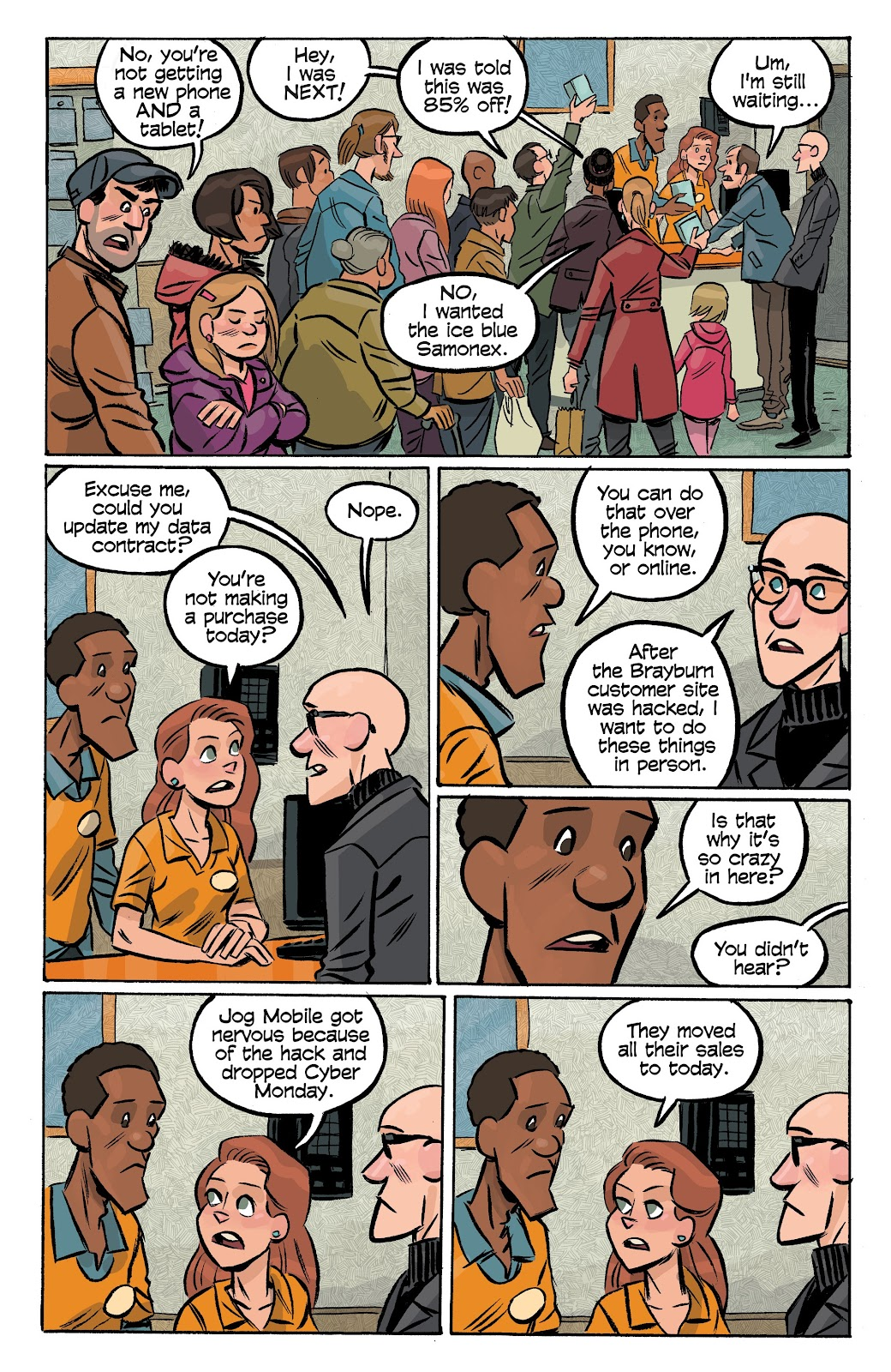 Read online Cellies comic -  Issue #6 - 13