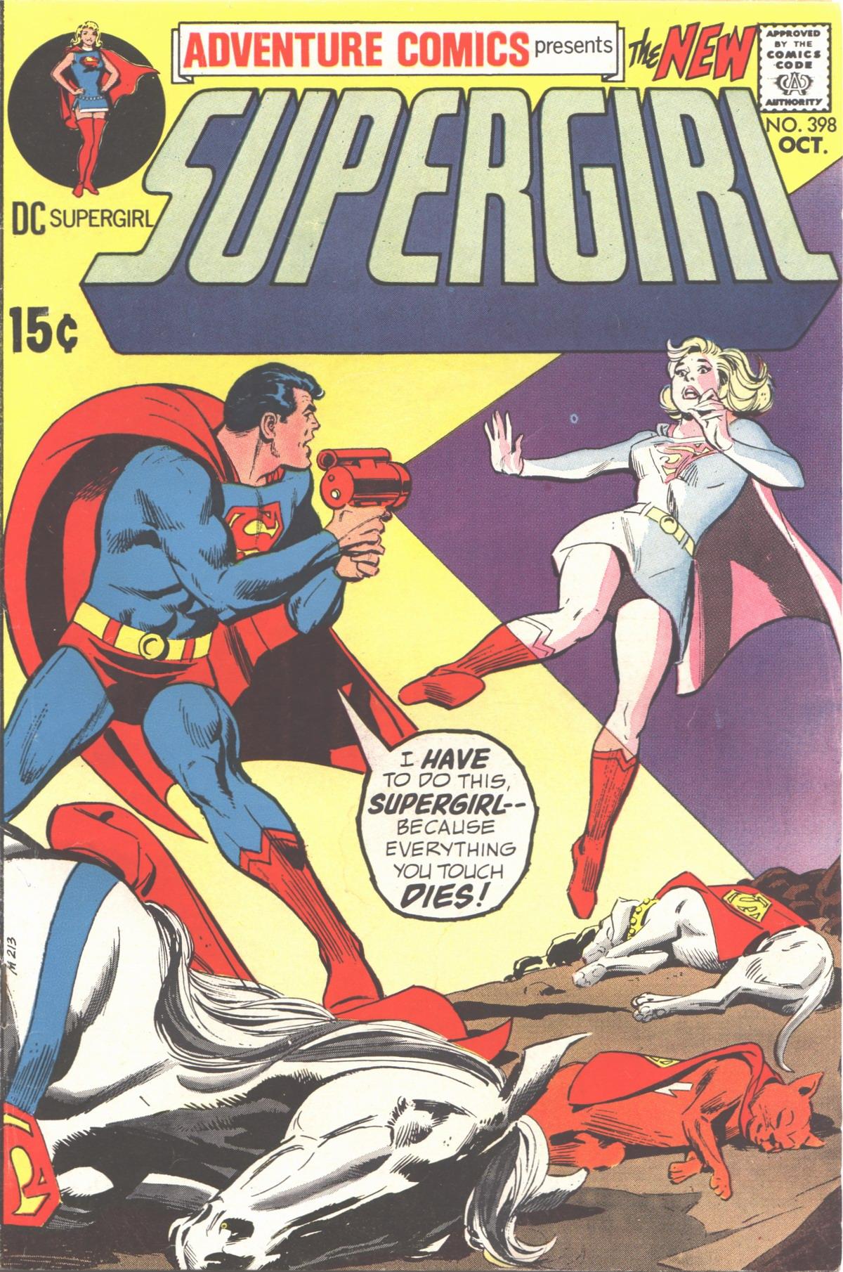 Read online Adventure Comics (1938) comic -  Issue #398 - 1