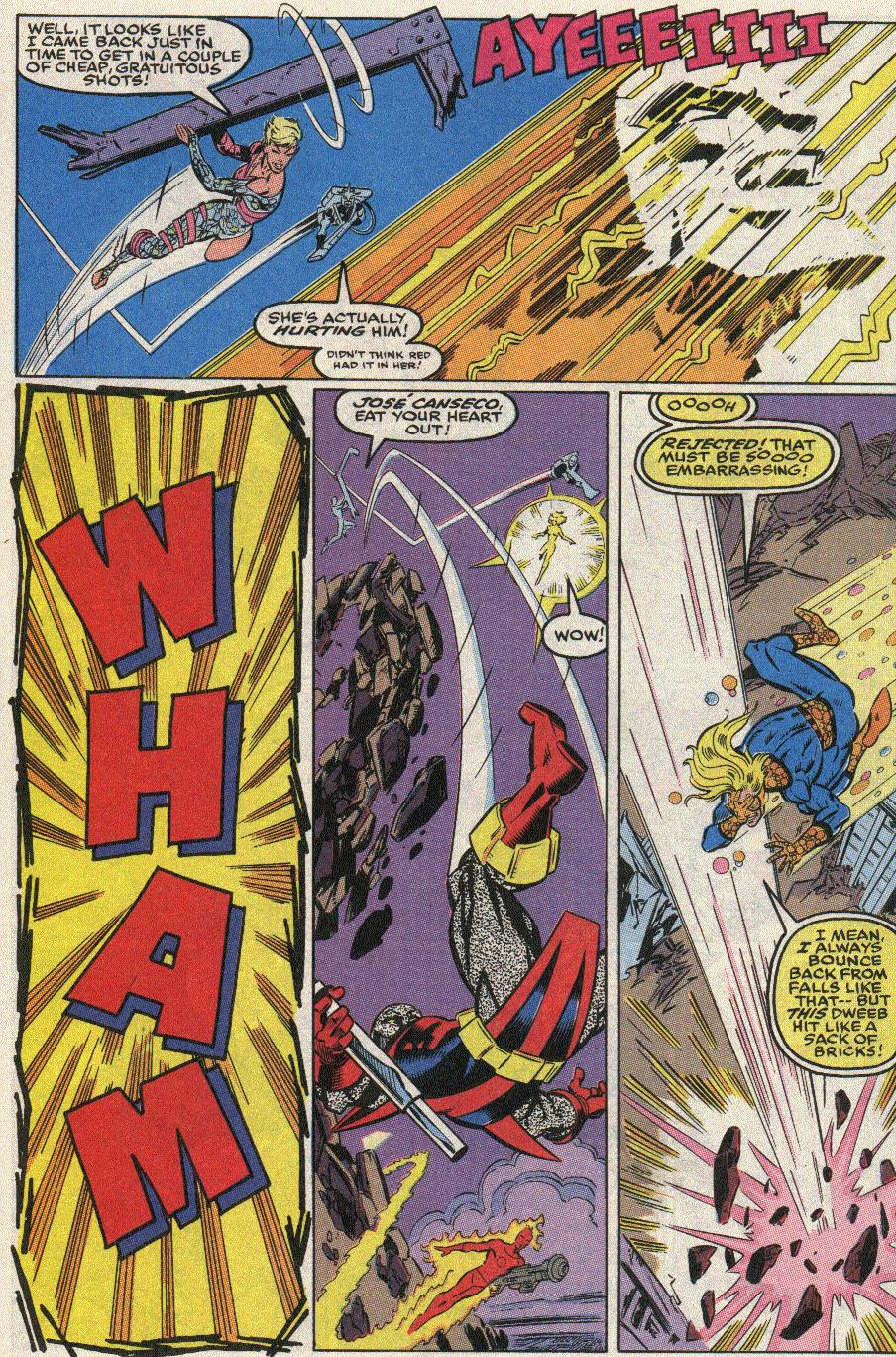 The New Warriors Issue #17 #21 - English 10