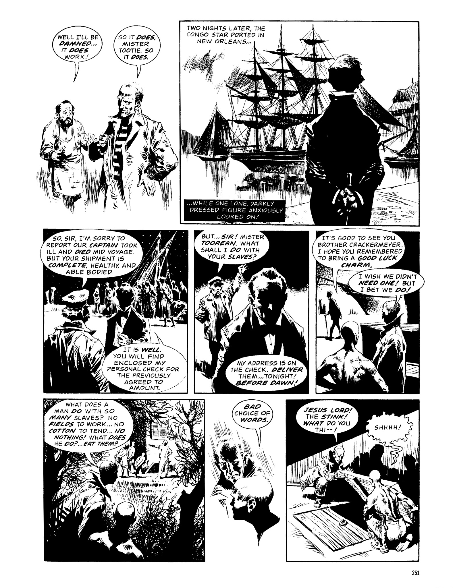 Read online Eerie Archives comic -  Issue # TPB 13 - 252