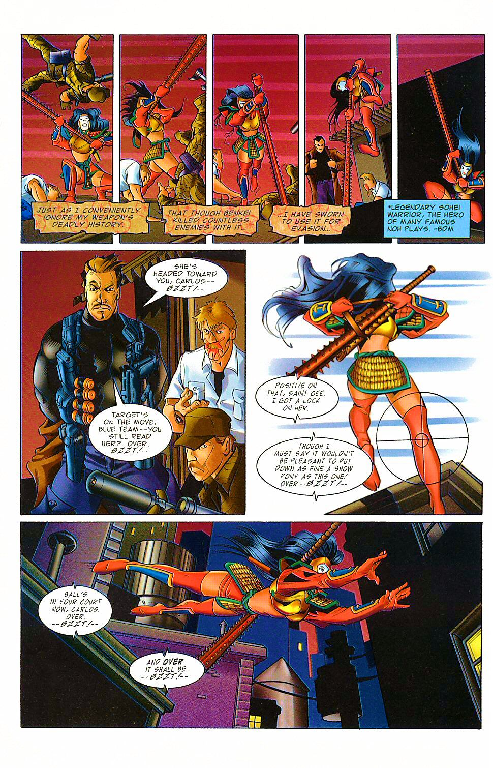 Read online Shi: The Way of the Warrior comic -  Issue #8 - 18