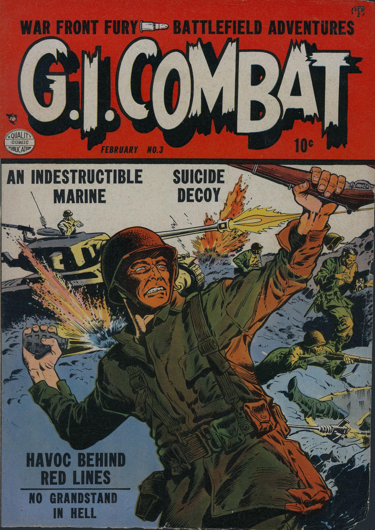 G.I. Combat (1952) 3 Page 1