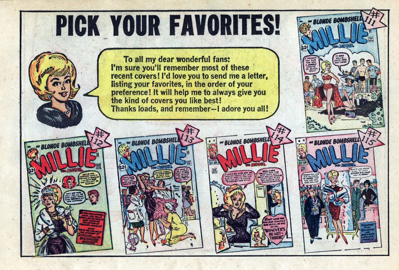 Read online Millie the Model comic -  Issue # Annual 3 - 36