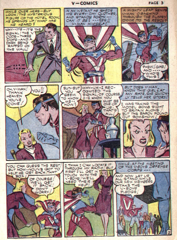 Read online V...- Comics comic -  Issue #1 - 5