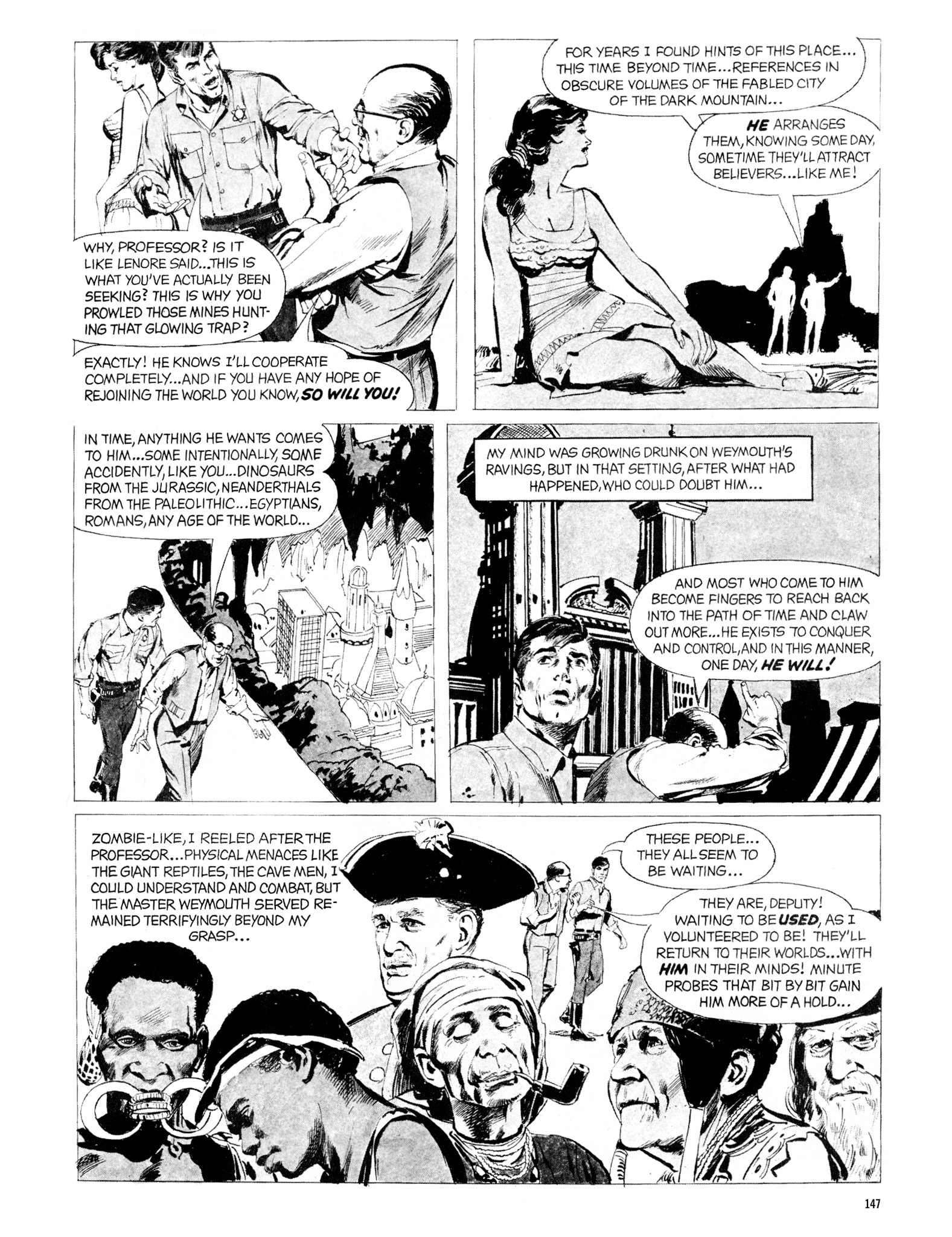 Read online Eerie Archives comic -  Issue # TPB 20 - 147