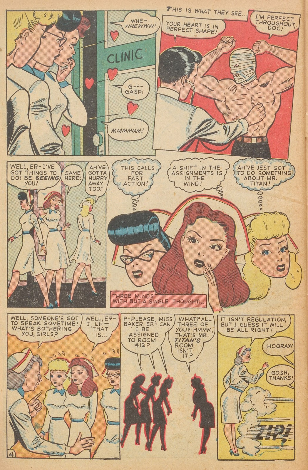 Read online Nellie The Nurse (1945) comic -  Issue #15 - 46