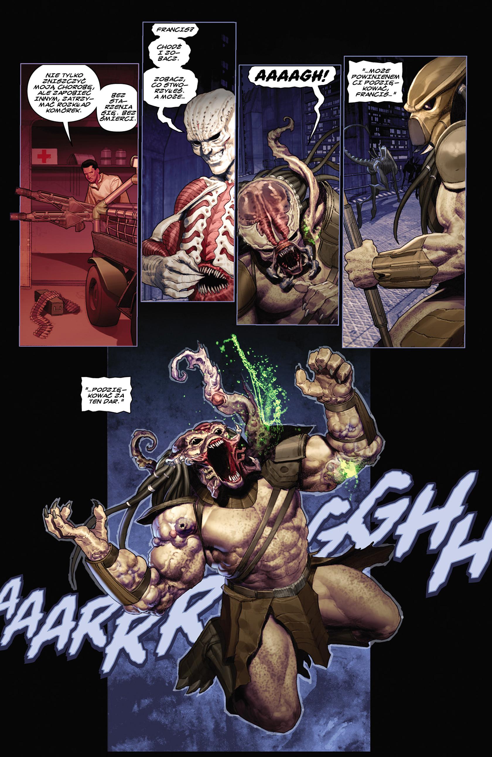 Read online Alien vs. Predator: Fire and Stone comic -  Issue #2 - 14