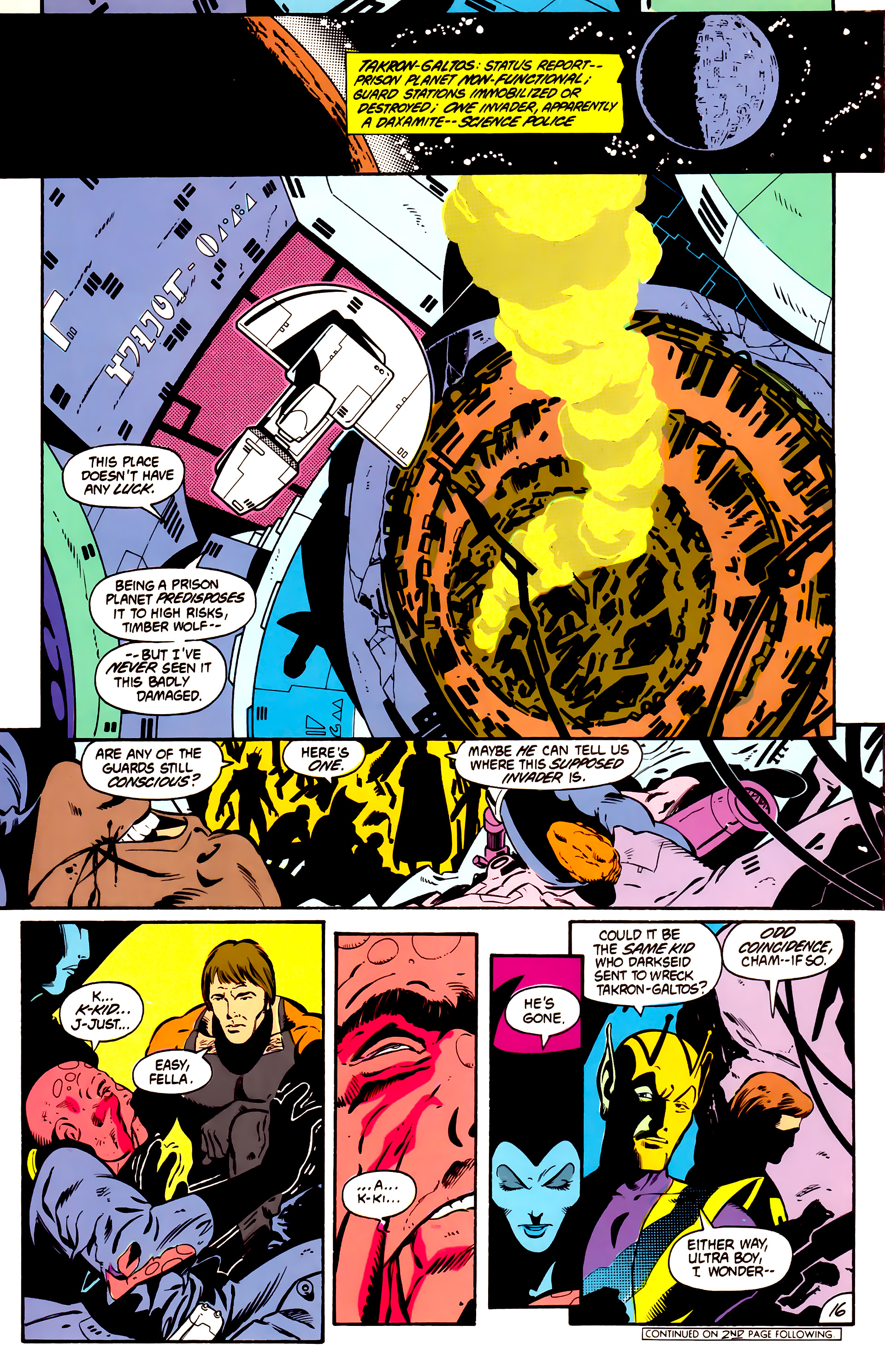 Legion of Super-Heroes (1984) 1 Page 17