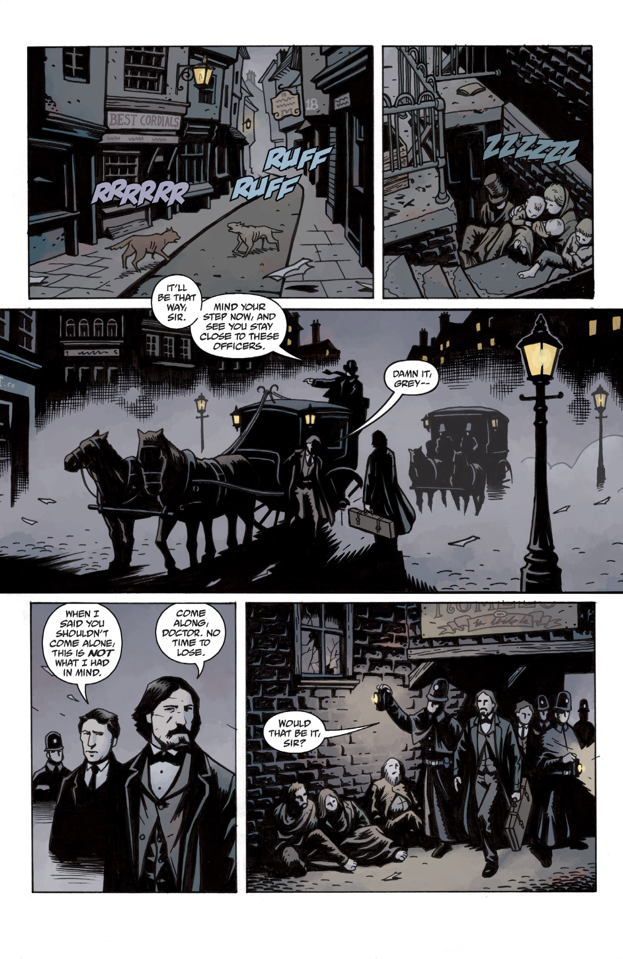Read online Sir Edward Grey, Witchfinder: In the Service of Angels comic -  Issue # TPB - 28
