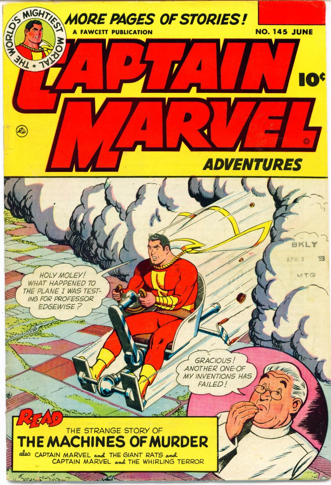 Captain Marvel Adventures issue 145 - Page 1