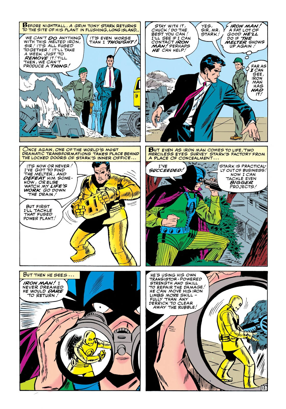 Read online Marvel Masterworks: The Invincible Iron Man comic -  Issue # TPB 1 (Part 2) - 32