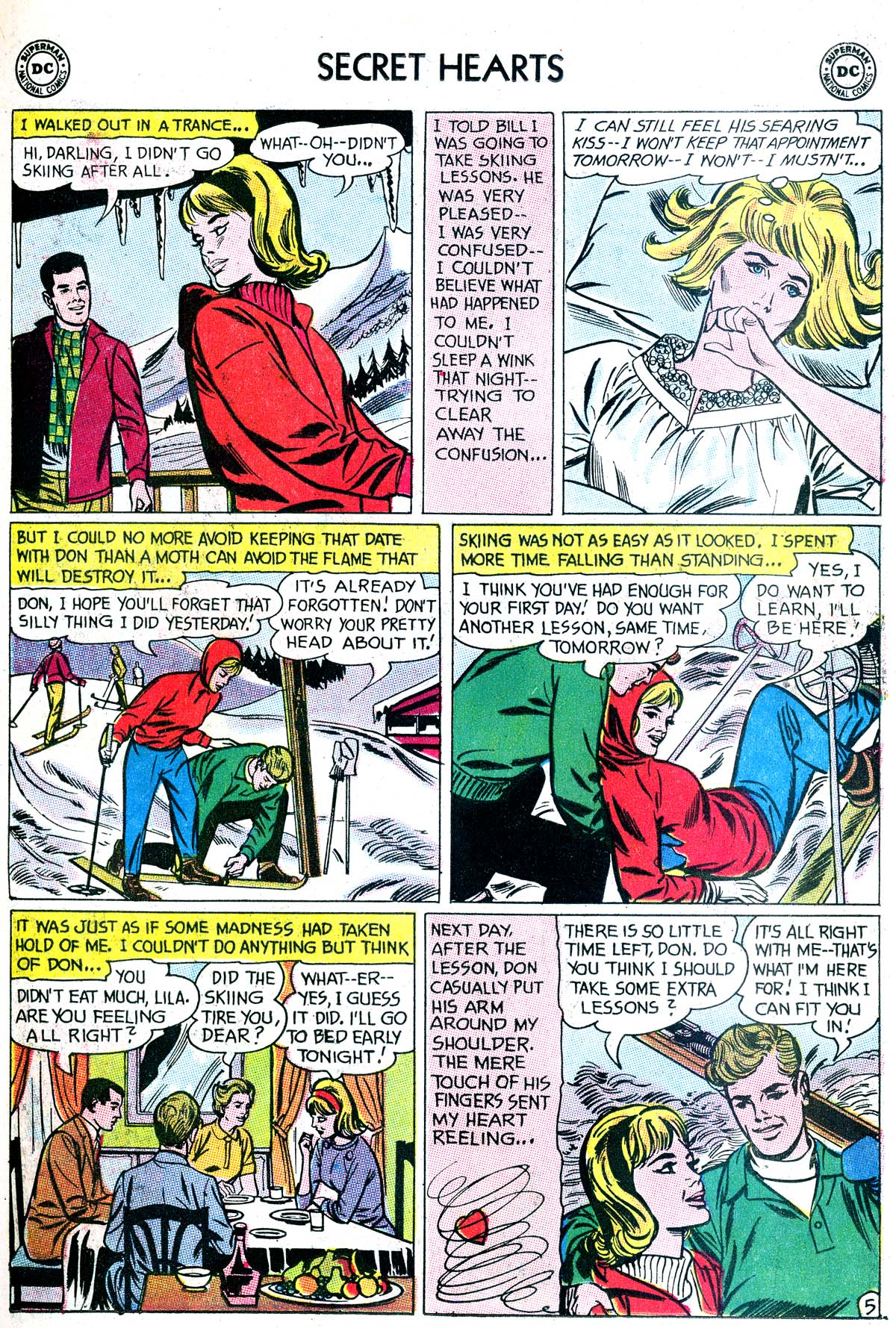 Read online Secret Hearts comic -  Issue #87 - 7
